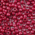 dark cranberry pearl 6 x 9mm plastic pony beads in bulk