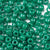 agate green 6 x 9mm plastic pony beads in bulk