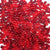 berry inspired red and dark red colors of 6 x 9mm plastic pony beads