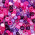 Berry Medley Pink & Purple Multicolor Mix Plastic Pony Beads 6 x 9mm, 500 beads