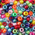 Ultimate Rainbow Pearl Multicolor Mix Plastic Pony Beads 6 x 9mm, 1000 beads