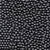 6mm Round Plastic Craft Beads, Black, 500 beads