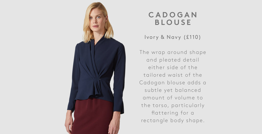 806110653908 The Cadogan blouse is a feminine and versatile staple from our AW18  collection.