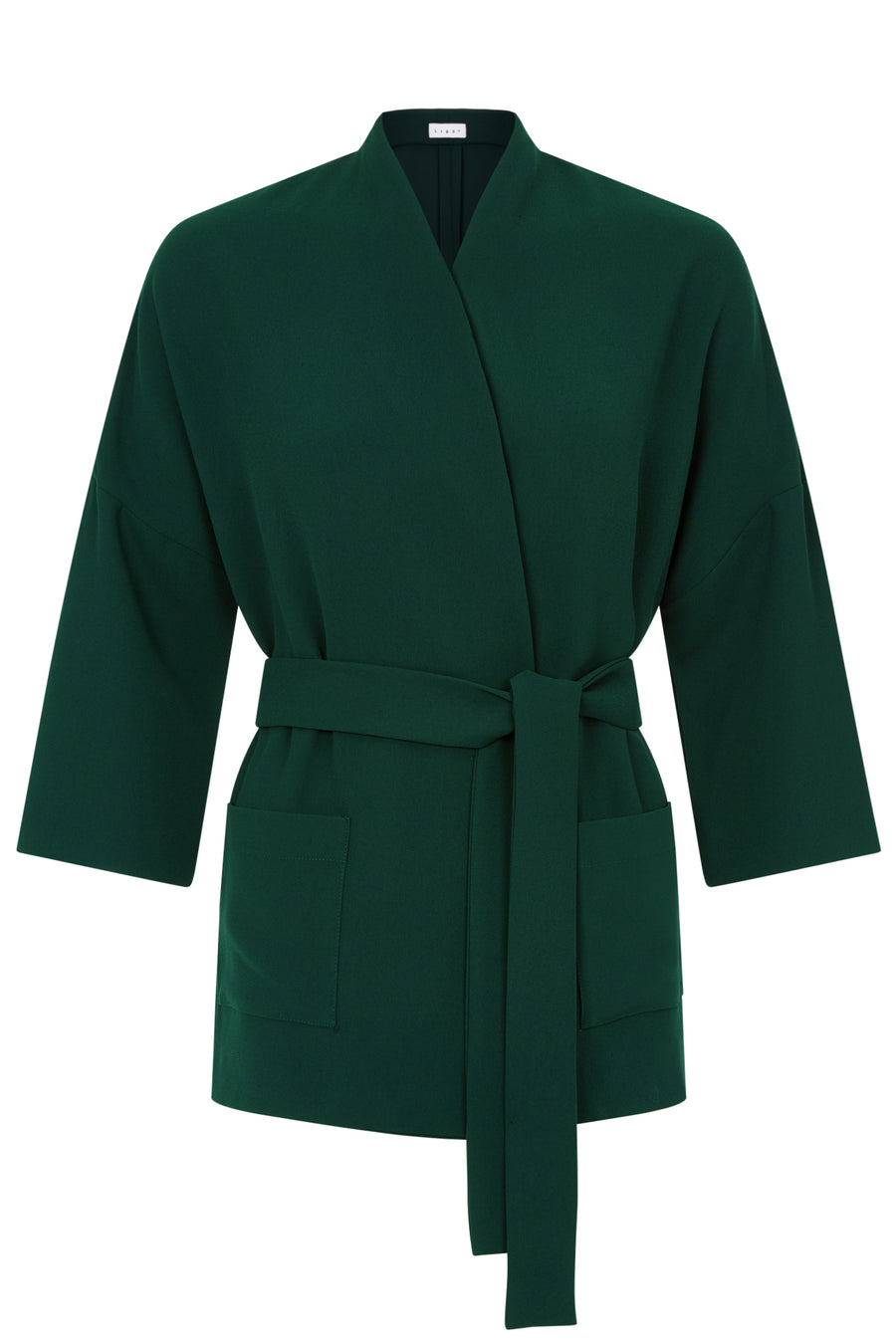 Battersea Green Crepe Jacket