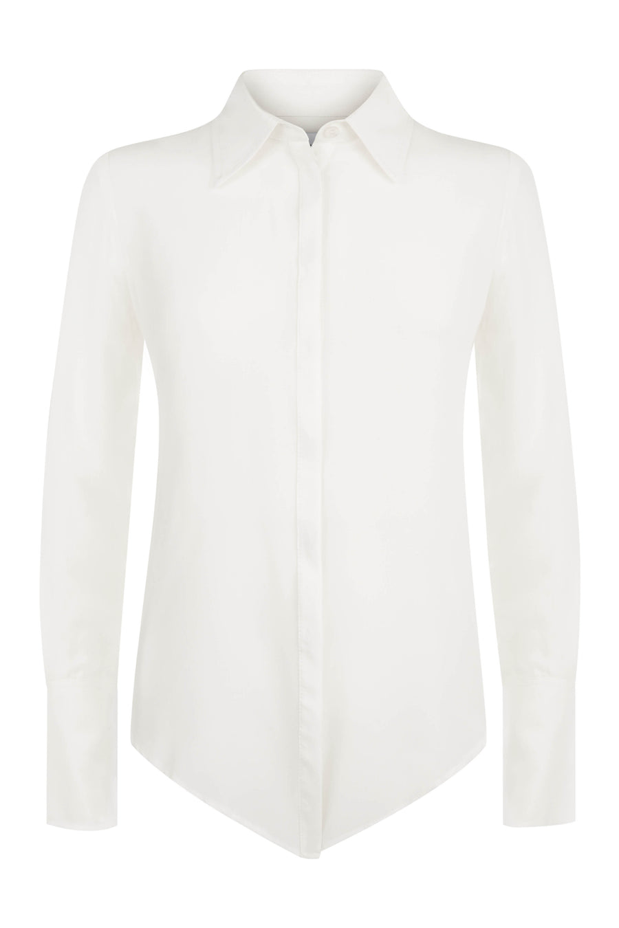 Beaulieu Ivory Silk Shirt