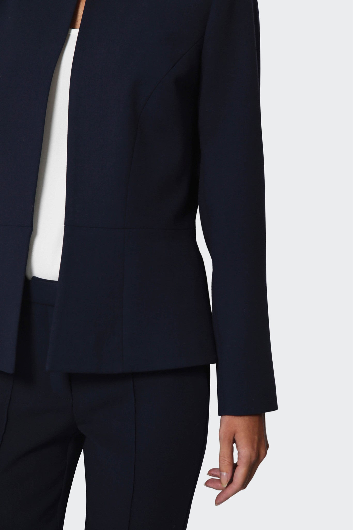 Burlington Navy Suiting Jacket