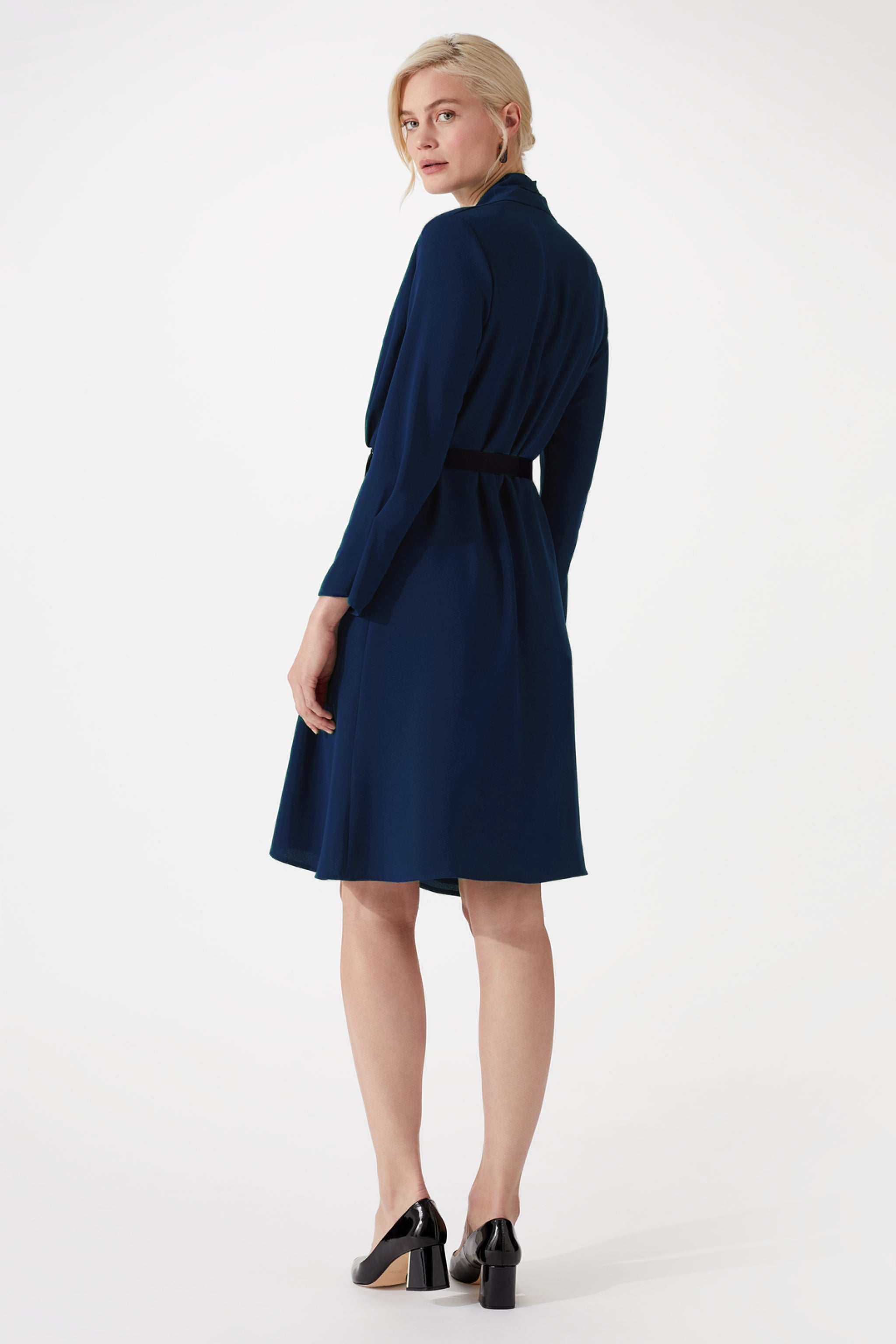 Cheyne Navy Dress