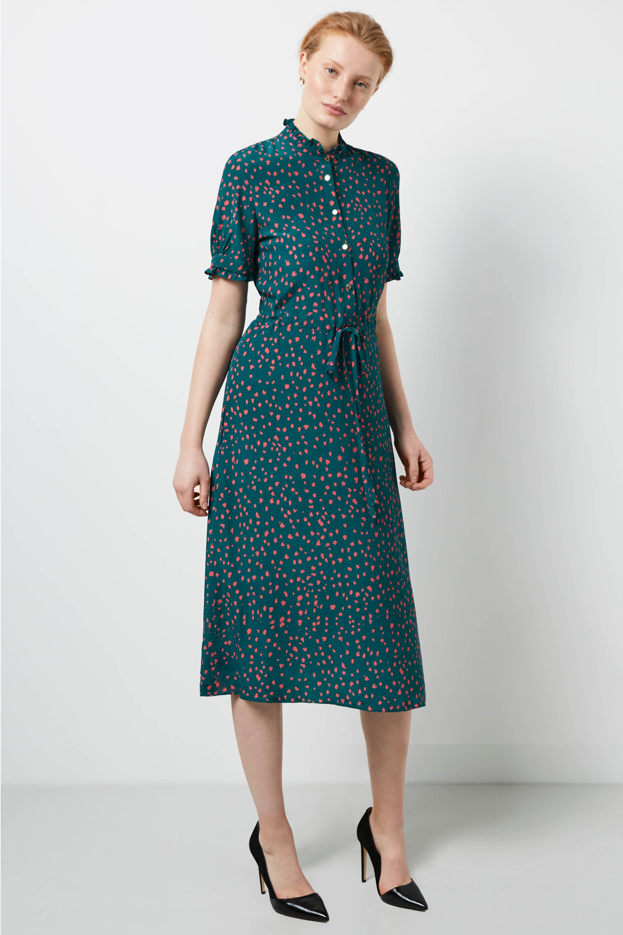 Canterbury Green Dapple Dress