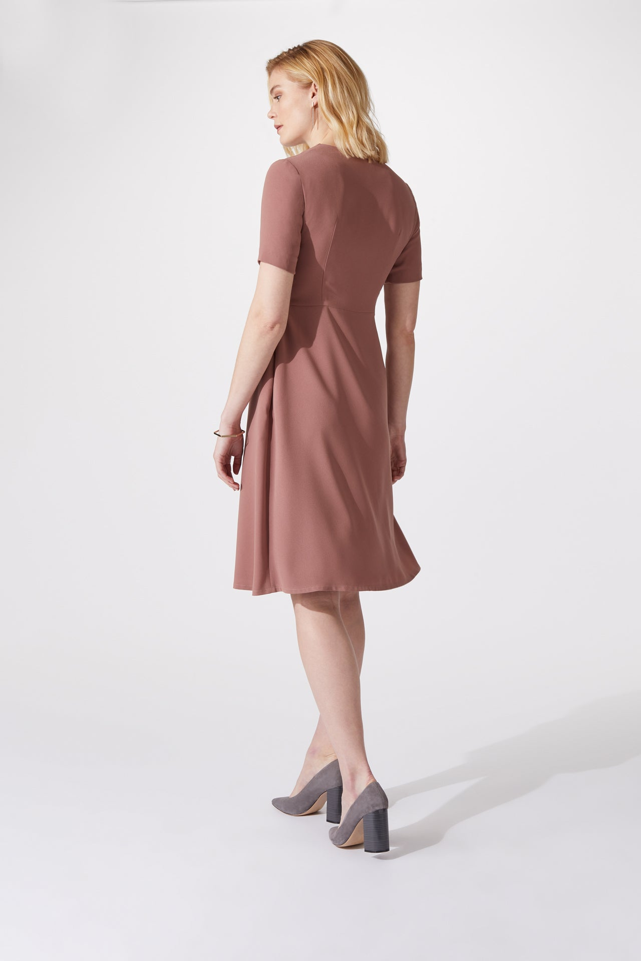 Chiswick Navy Dress