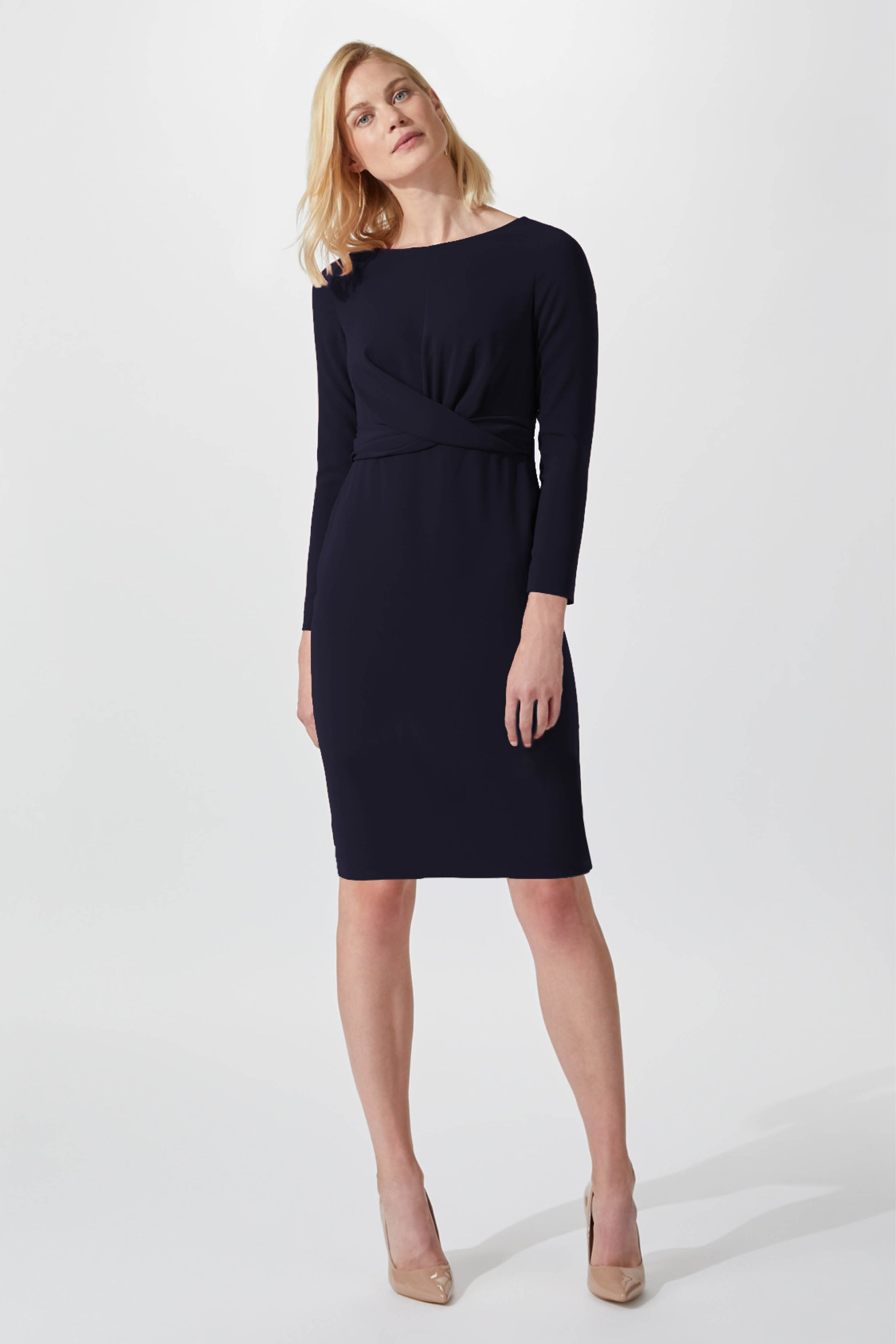 Cliveden Navy Dress
