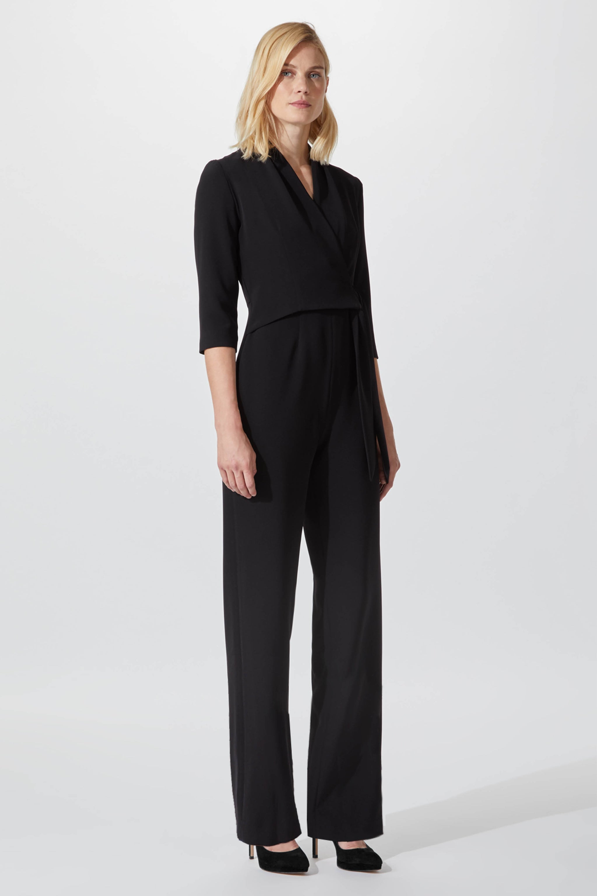Cooper Black Jumpsuit