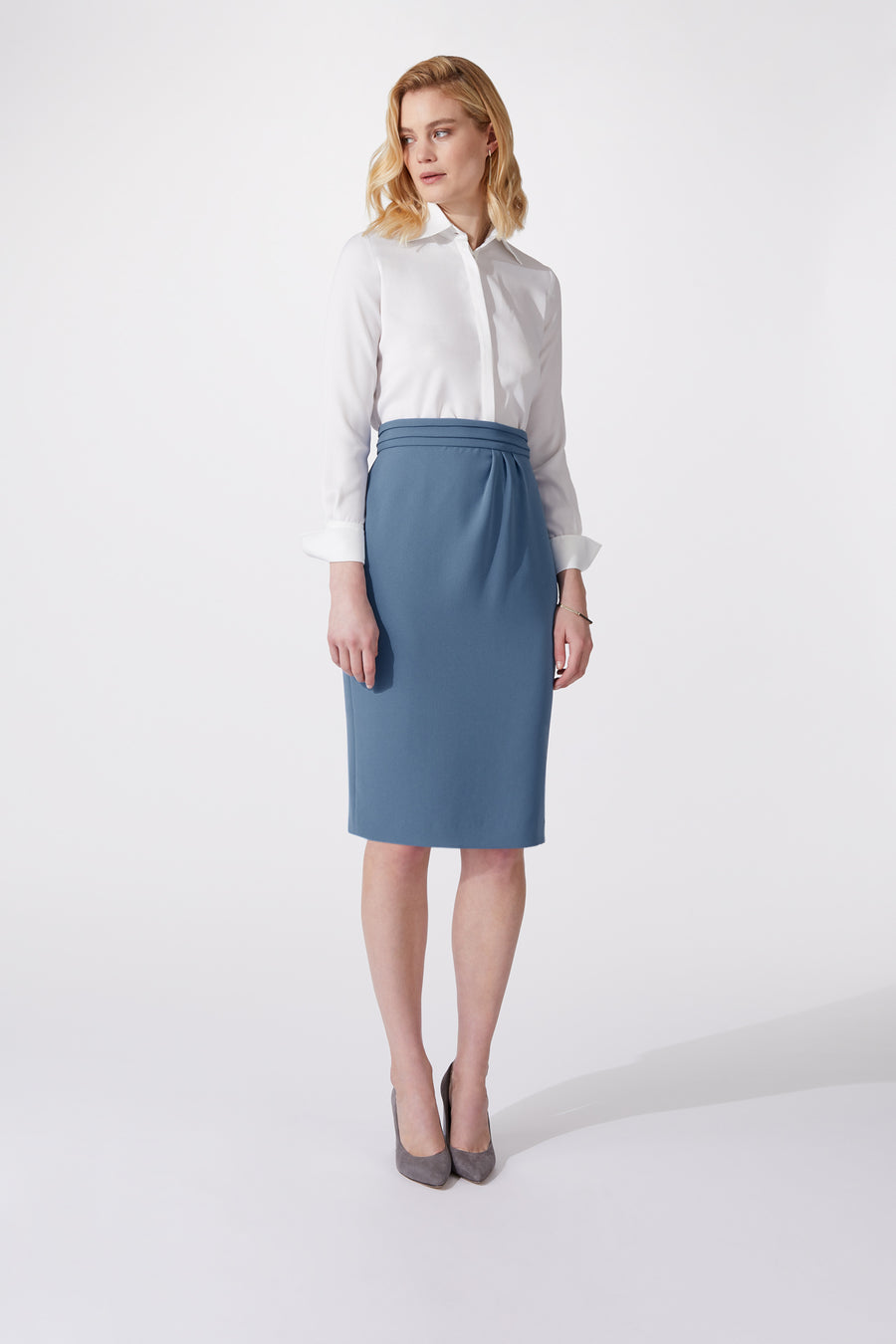 Edith Blush Skirt