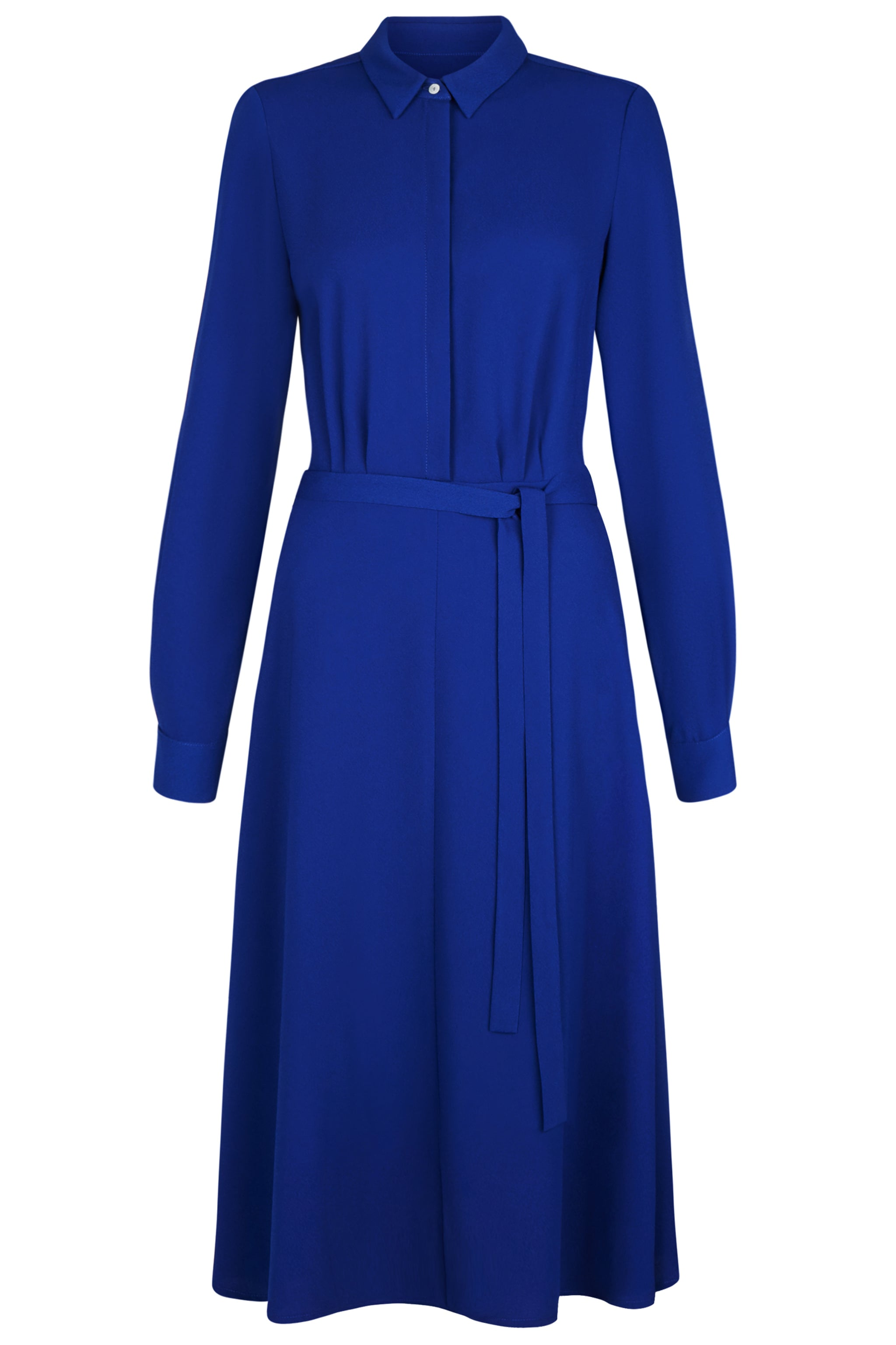 Exeter Cobalt Shirt Dress