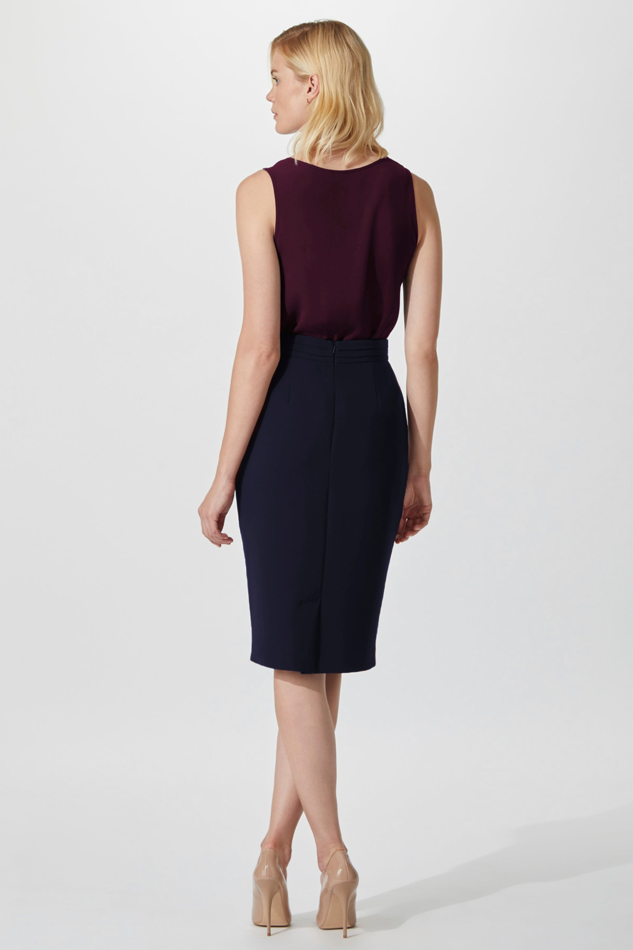 Brook Mulberry Top