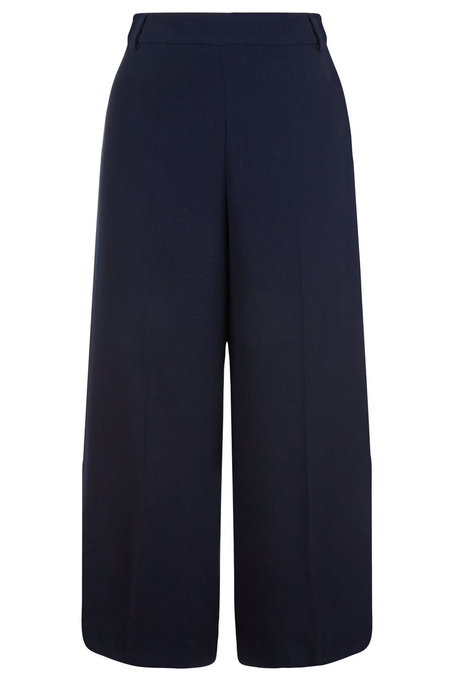 Kendle Navy Suiting Culottes