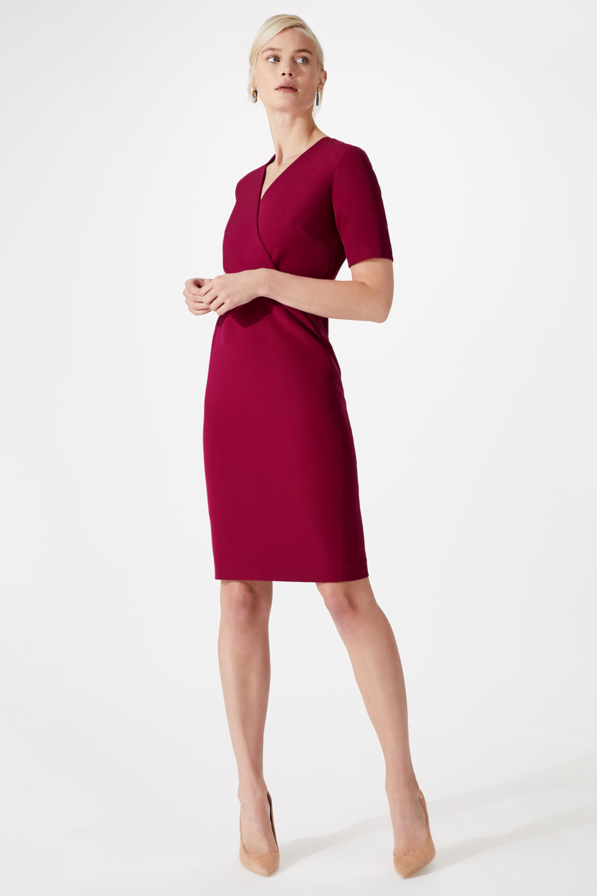 Marlborough Rosehip Dress