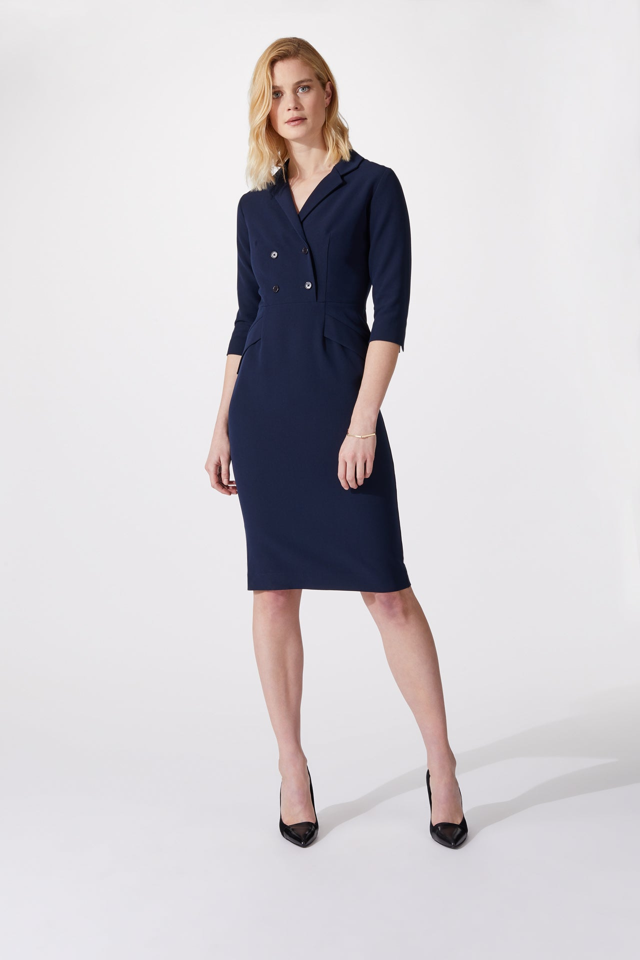 Oxford Navy Dress