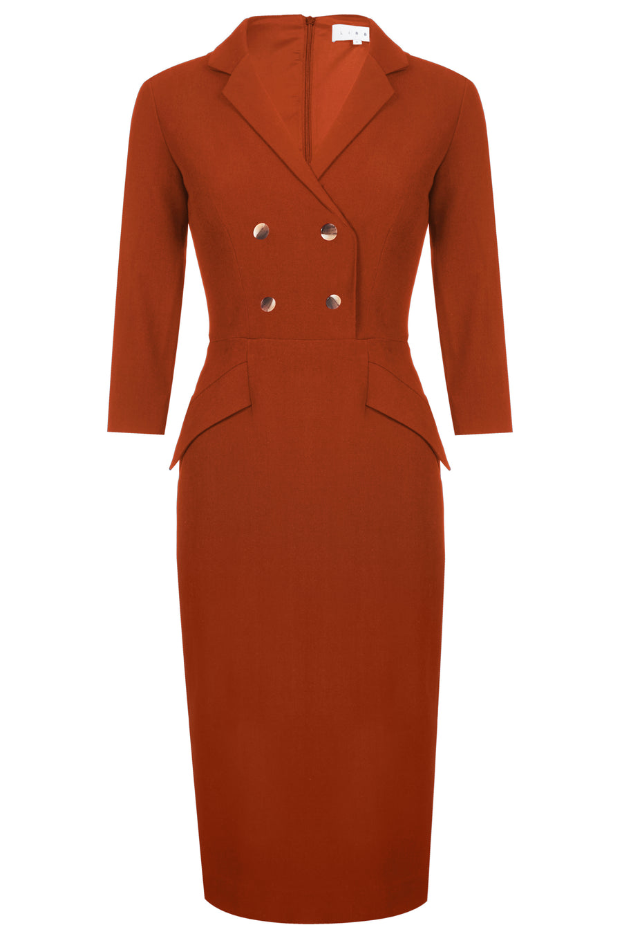 Oxford Terracotta Dress