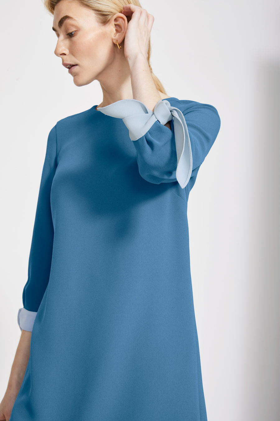 Padstow Turner Blue Dress