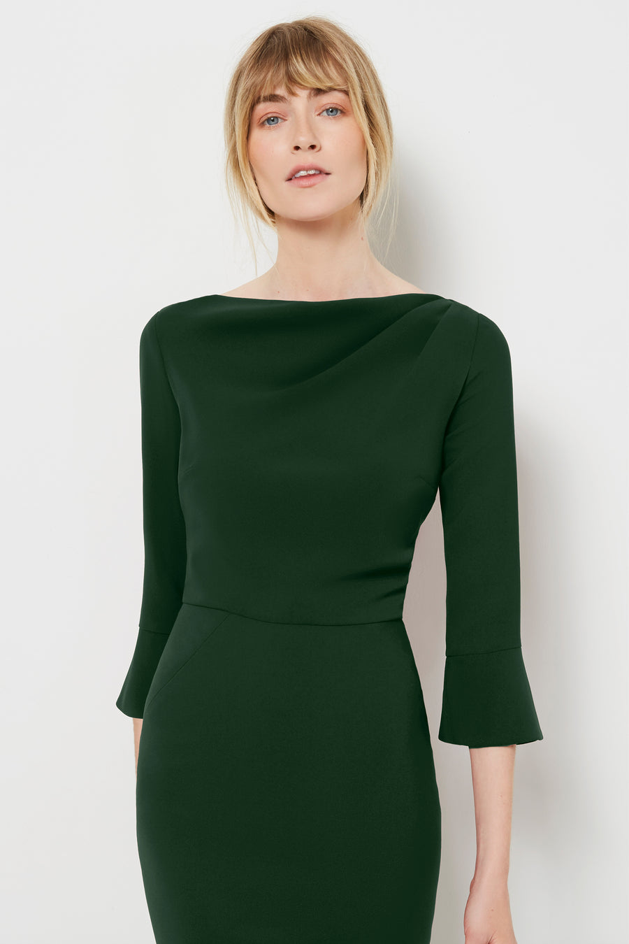 Serpentine Green Dress