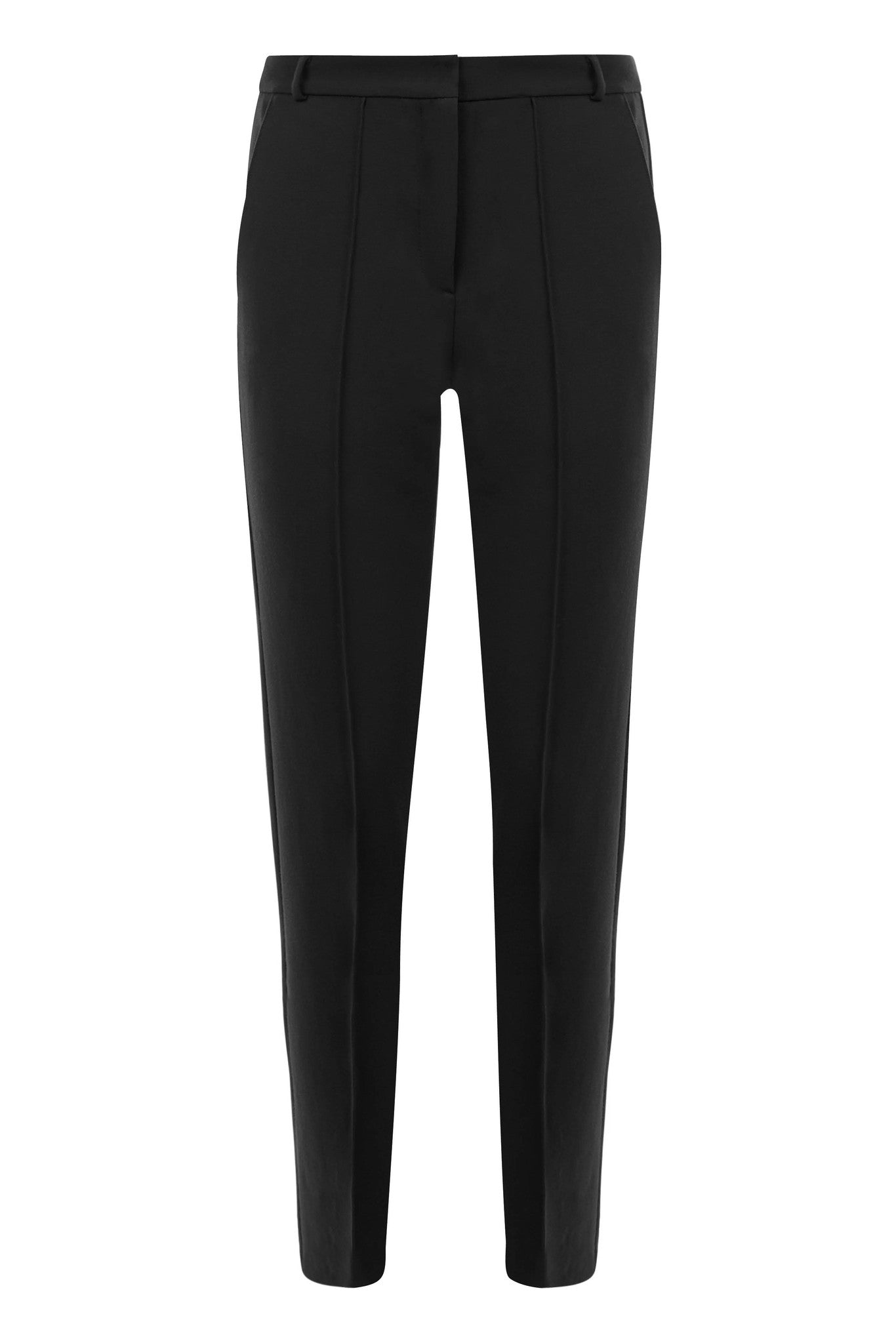 Savoy Black Suiting Trousers