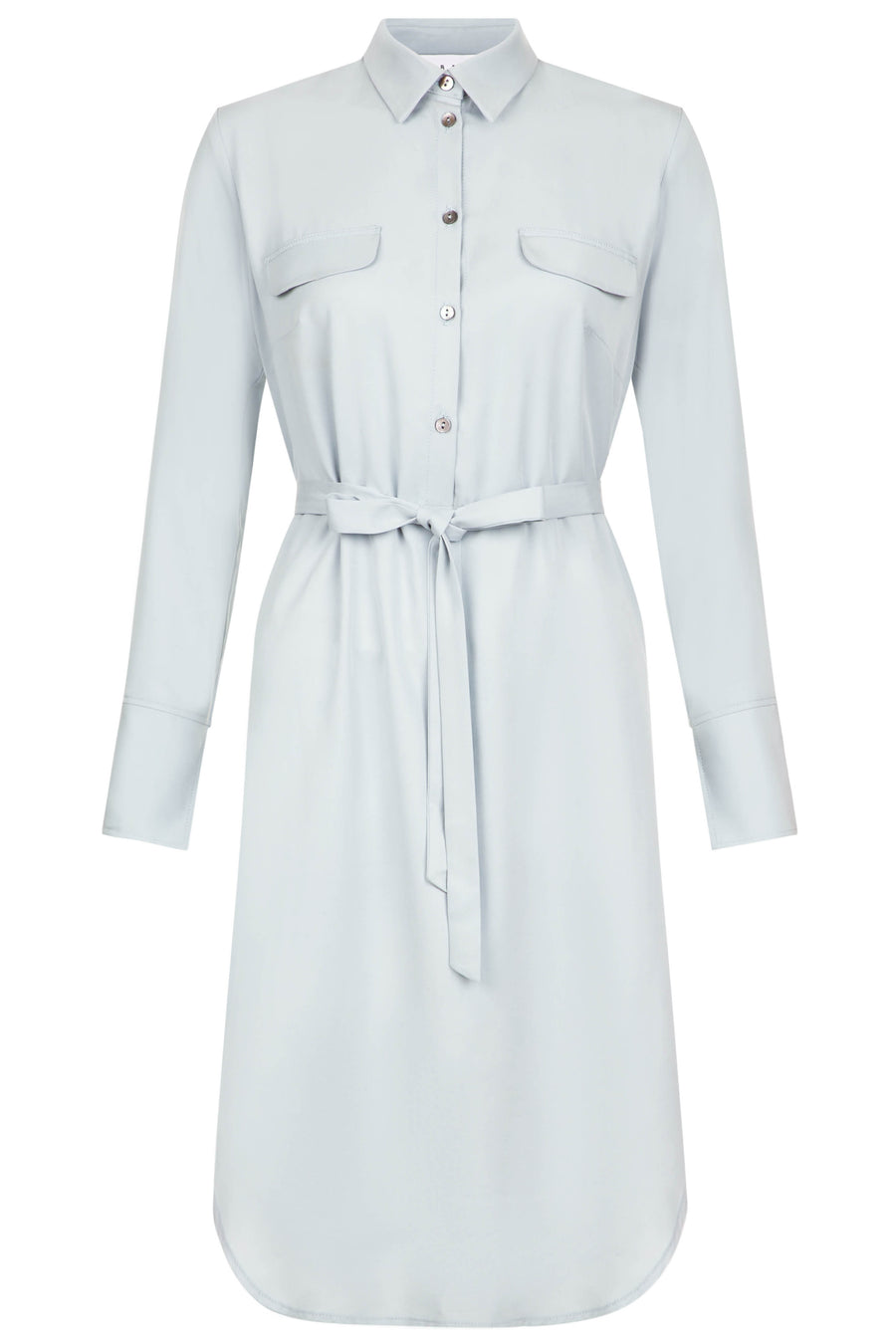 Suffolk Cornflower Blue Shirt Dress