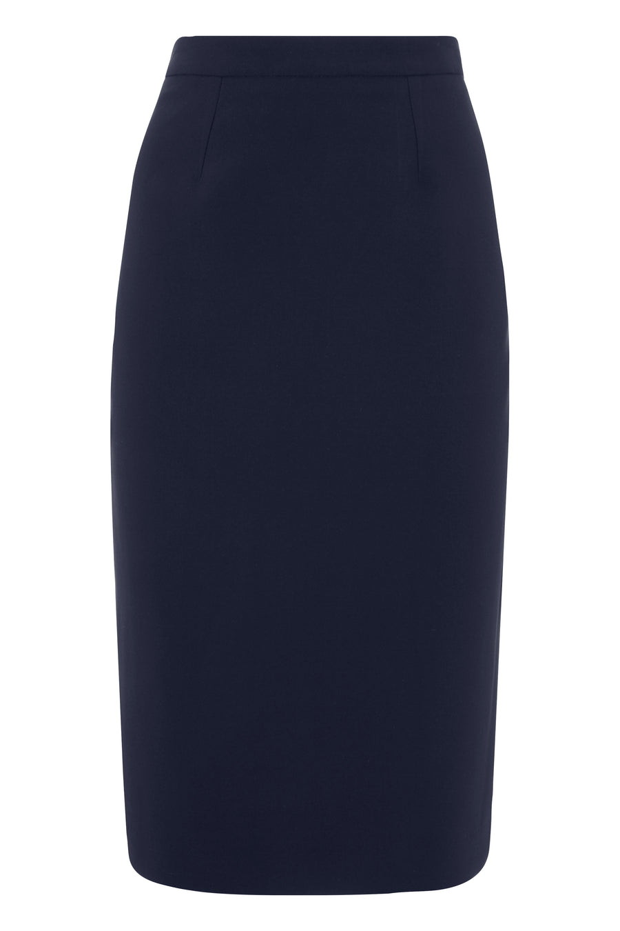 Suzy Navy Suiting Skirt