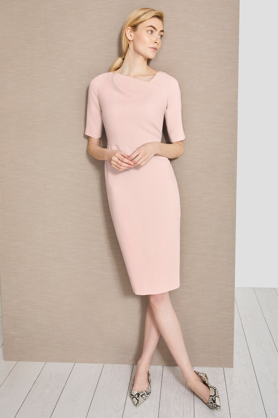 Thurloe Pink Dress