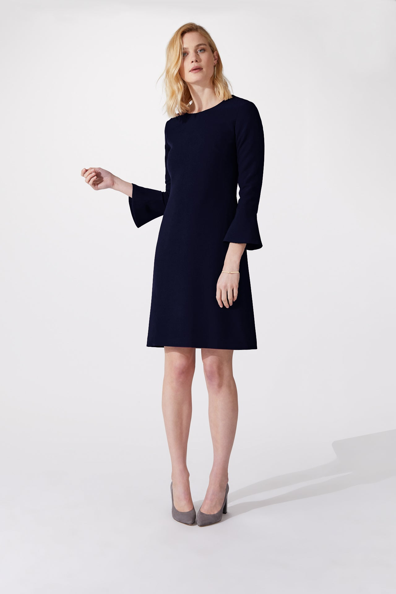 Windsor Navy Dress