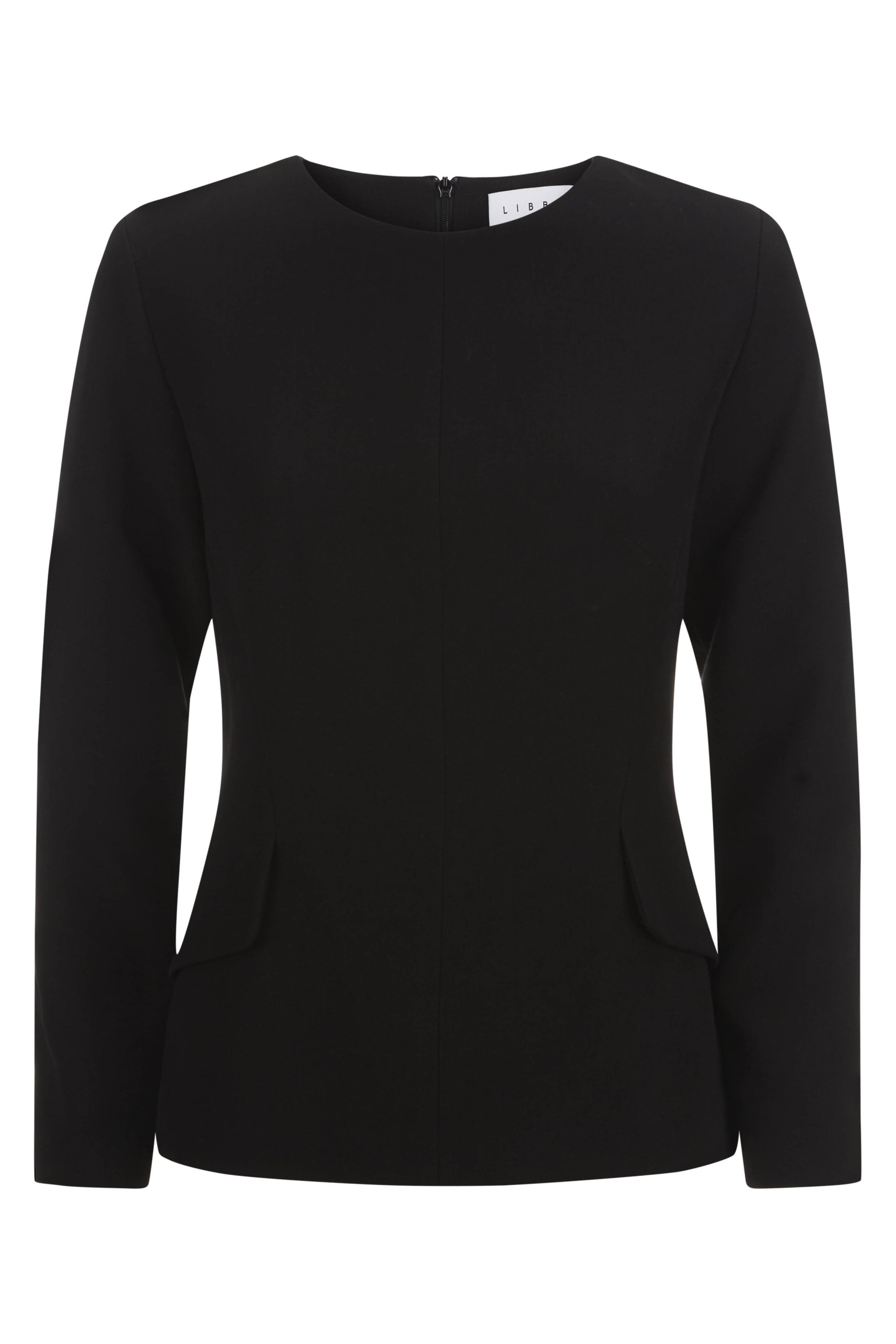 Wellington Black Suiting Top