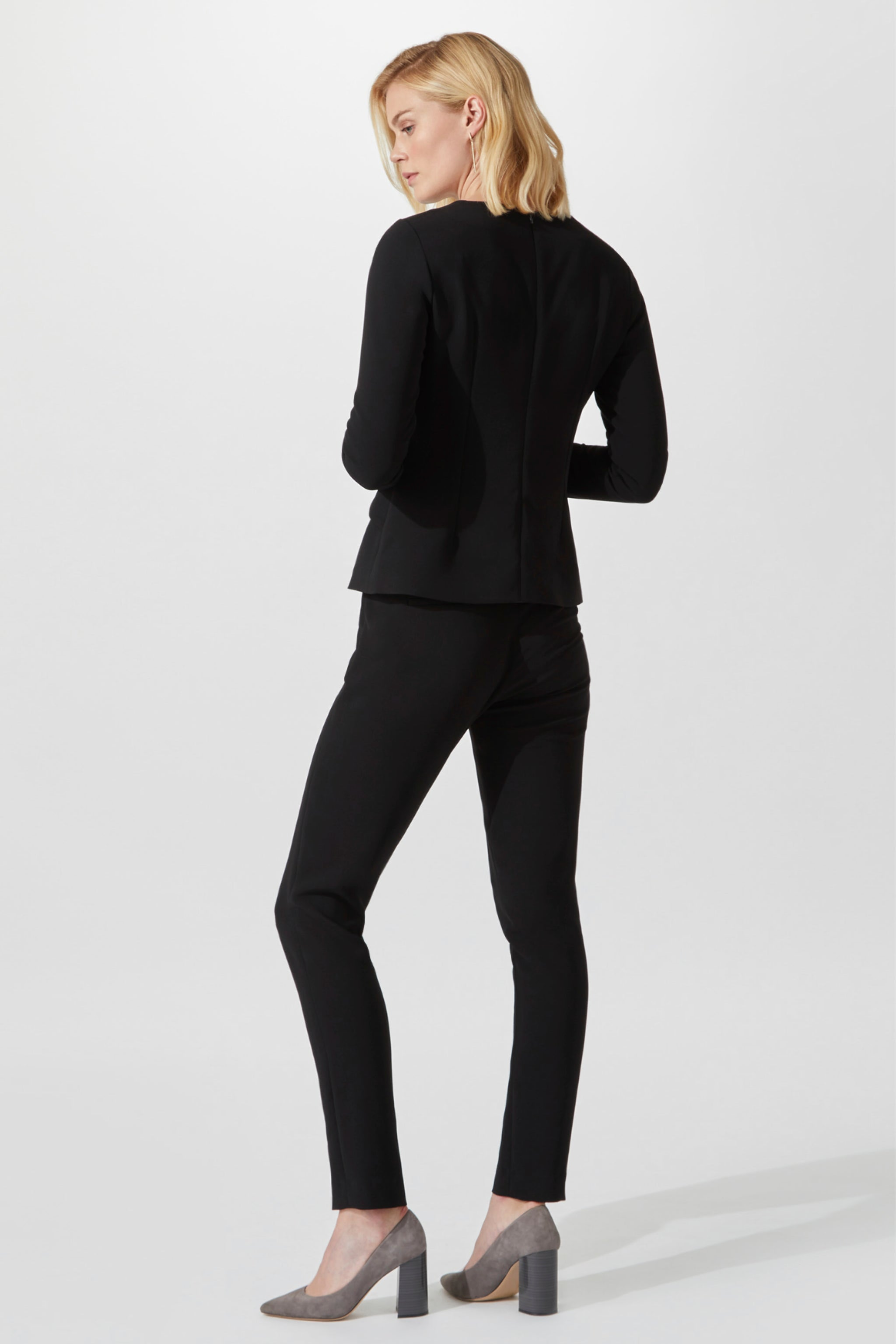 Brunswick Black Suiting Trousers