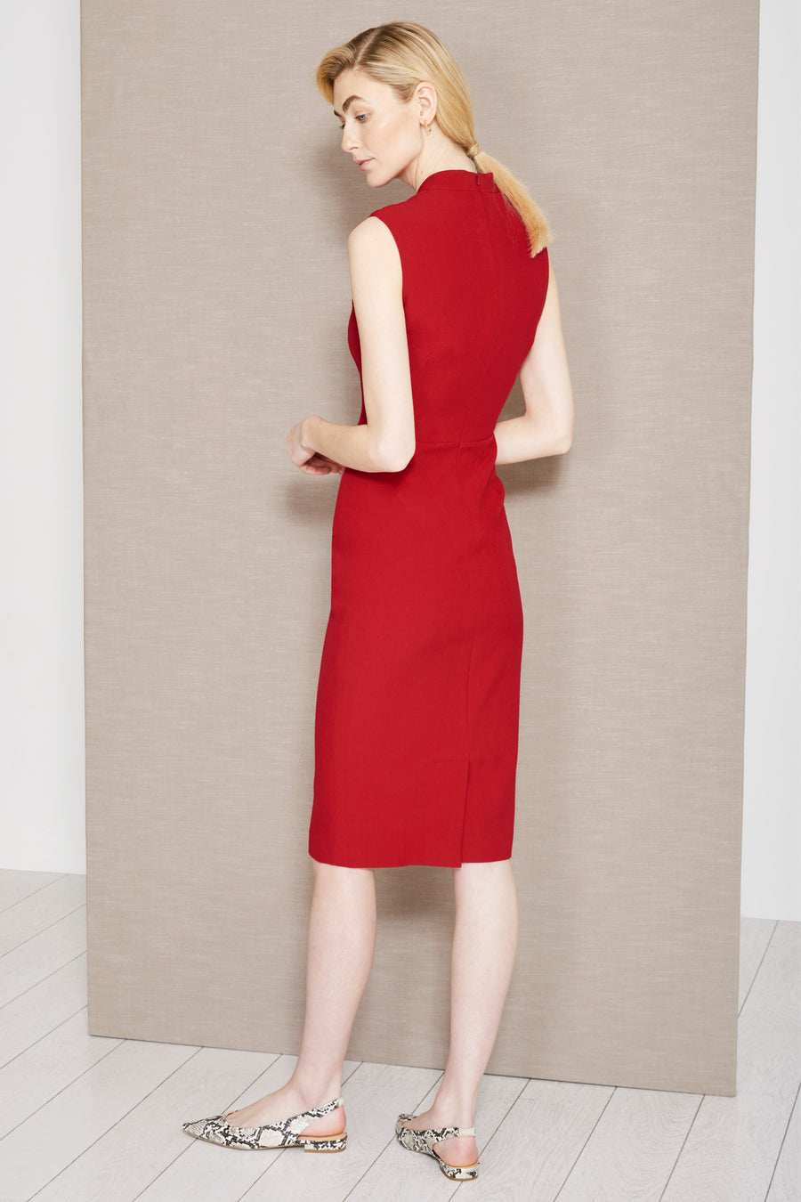 Allington Lipstick Red Dress