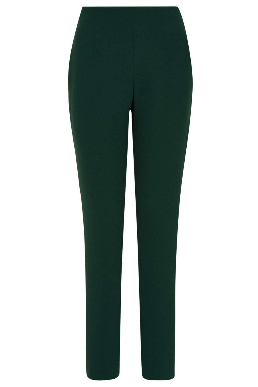Brunswick Green Crepe Trousers