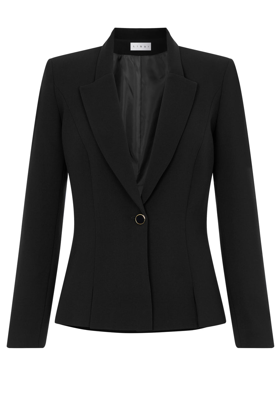 Buckingham Black Suiting Jacket