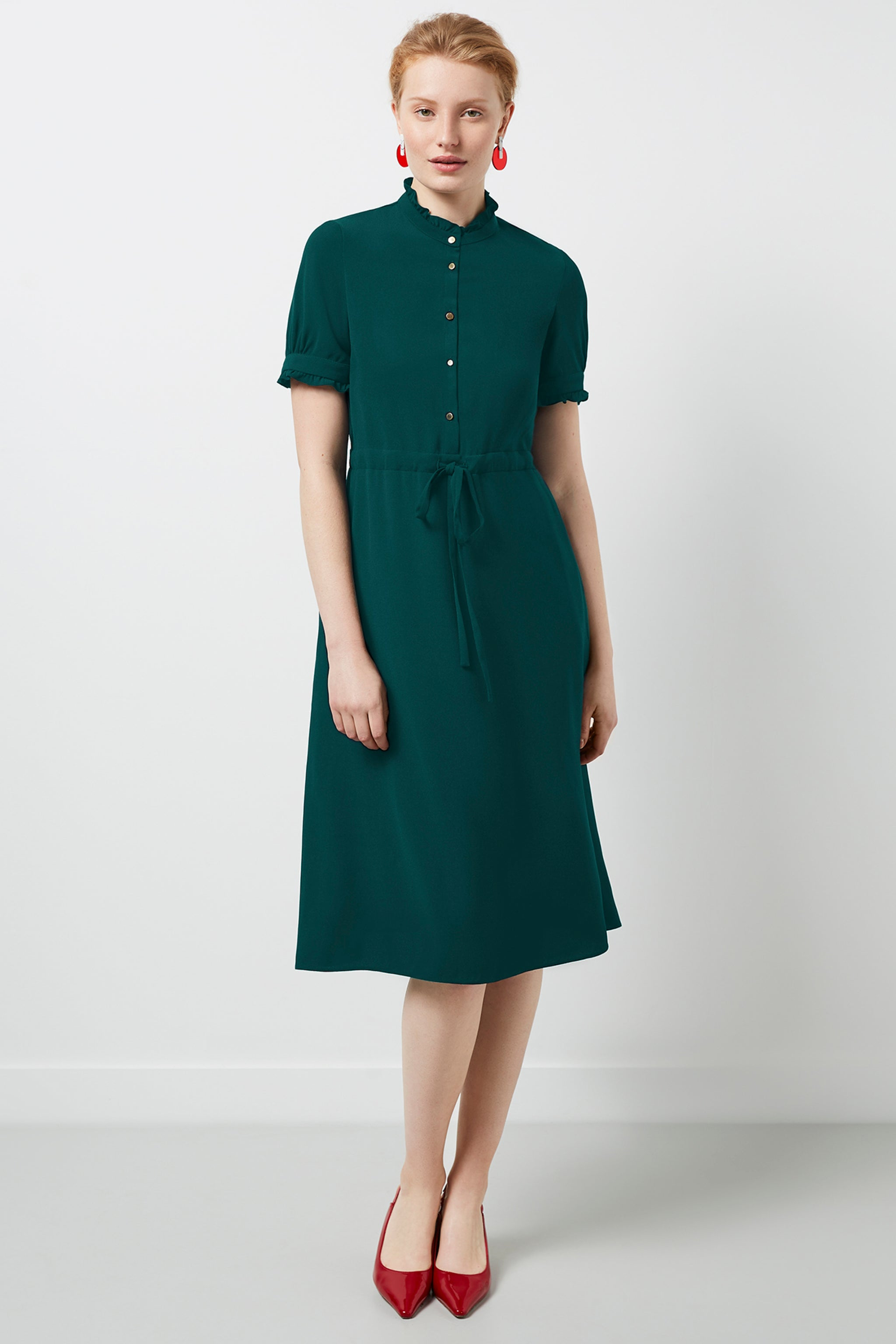 Canterbury Green Dress