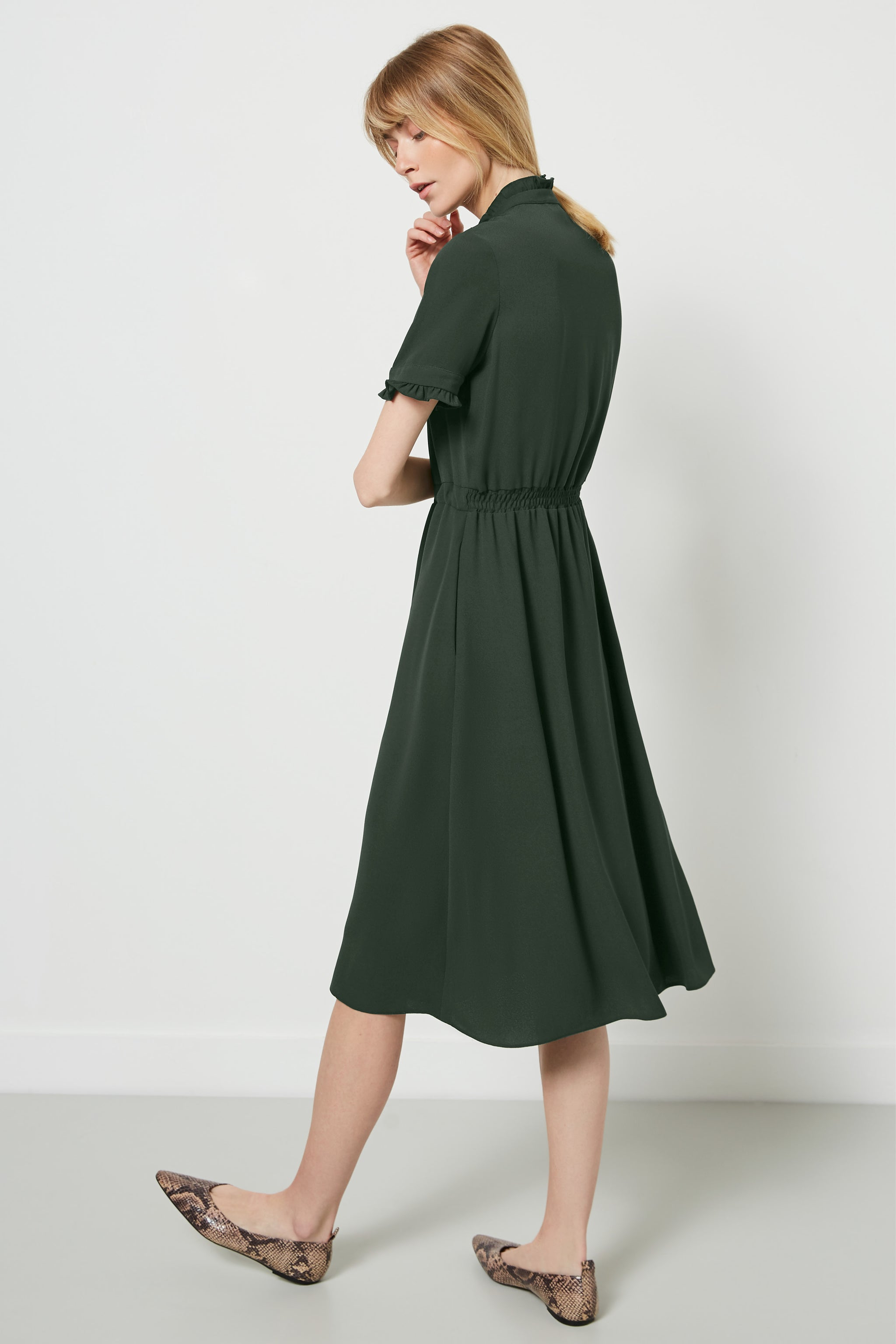 Canterbury Khaki Dress