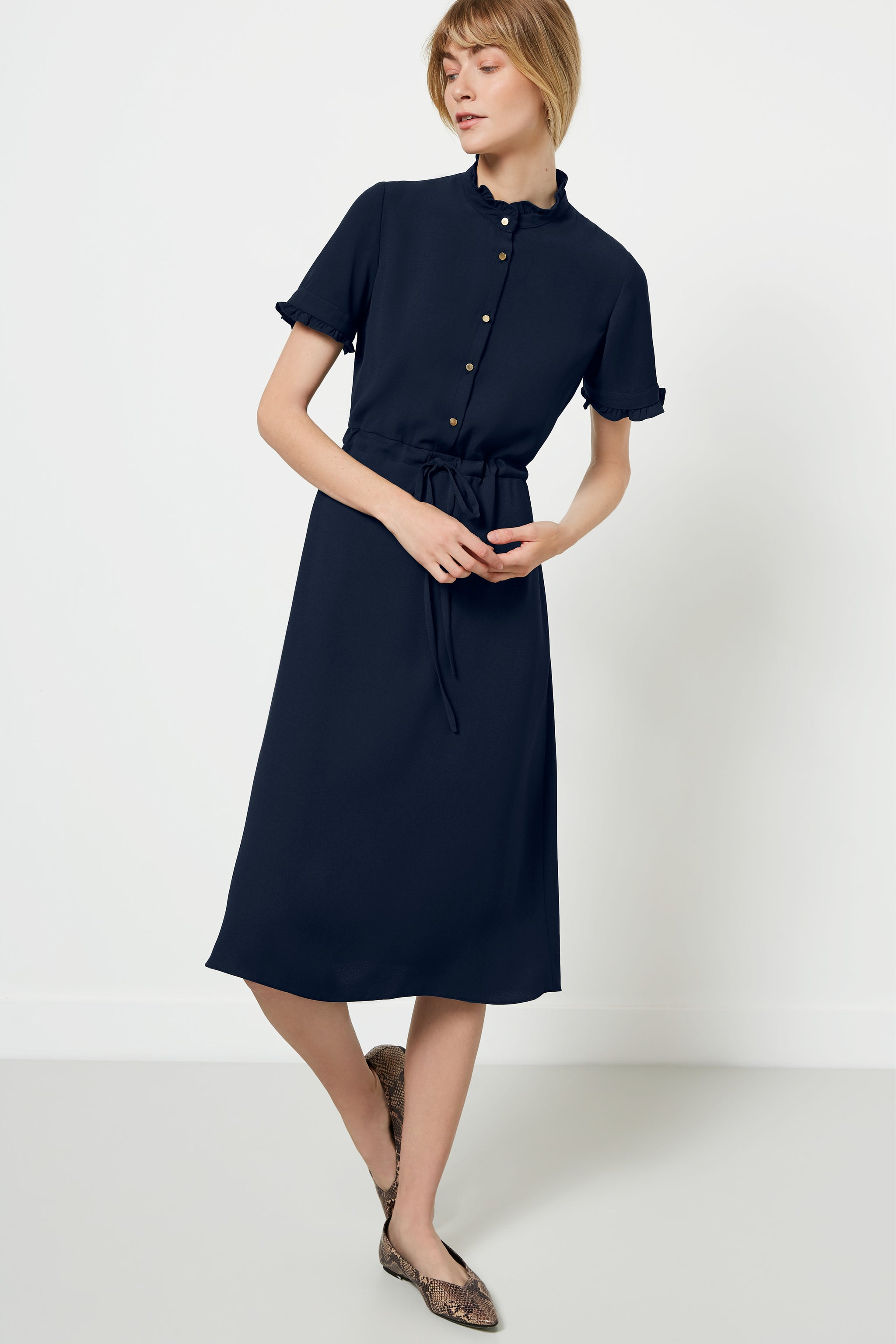 Canterbury Navy Dress