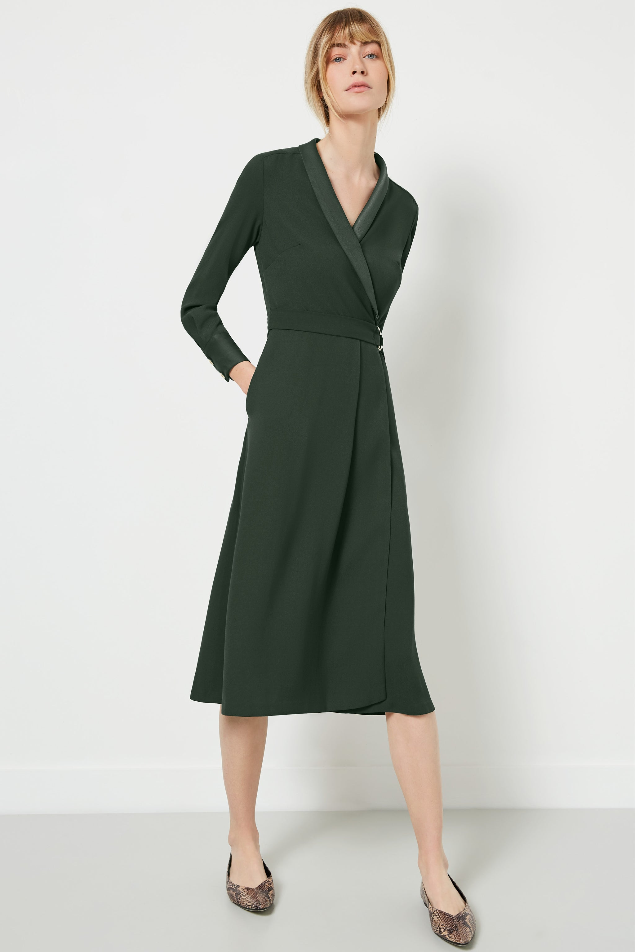 Carlton Khaki Dress