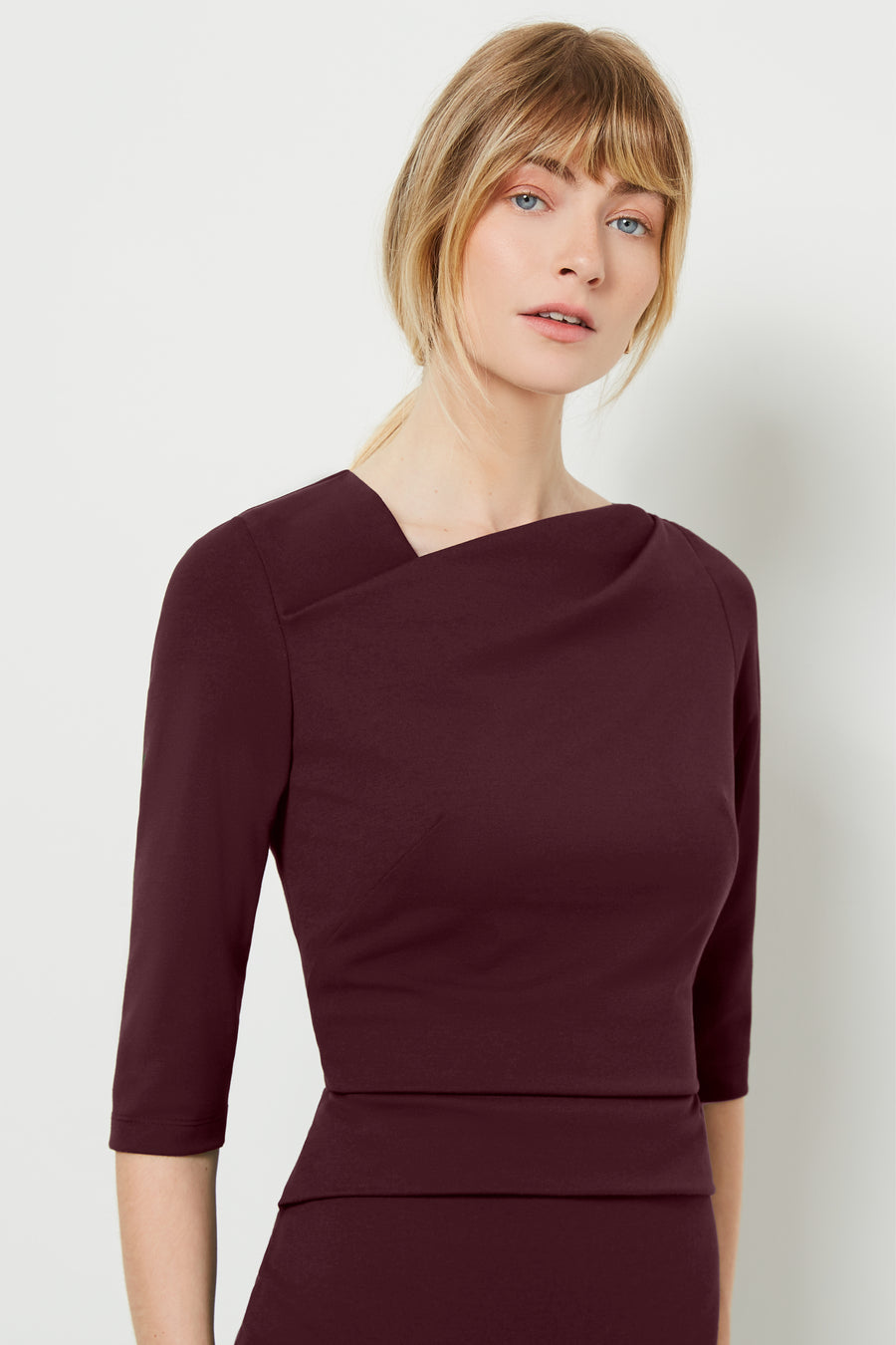 Cavendish Aubergine Dress
