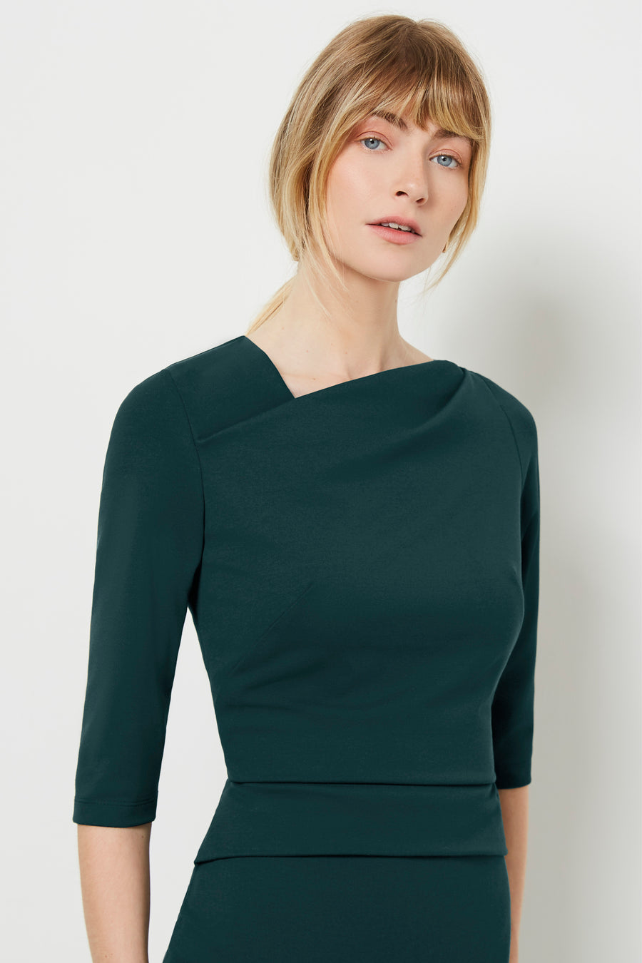 Cavendish Green Ponte Dress