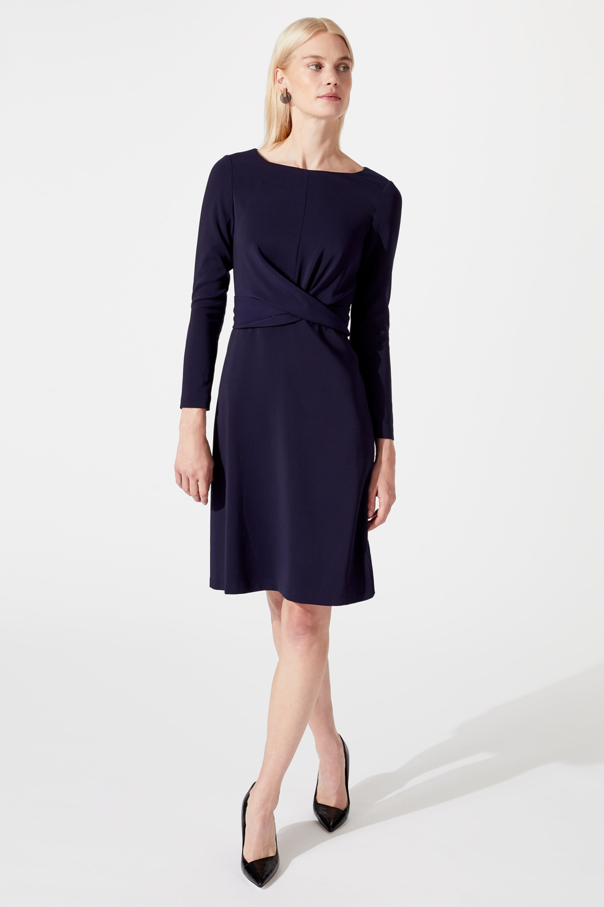 Charlton Navy Dress