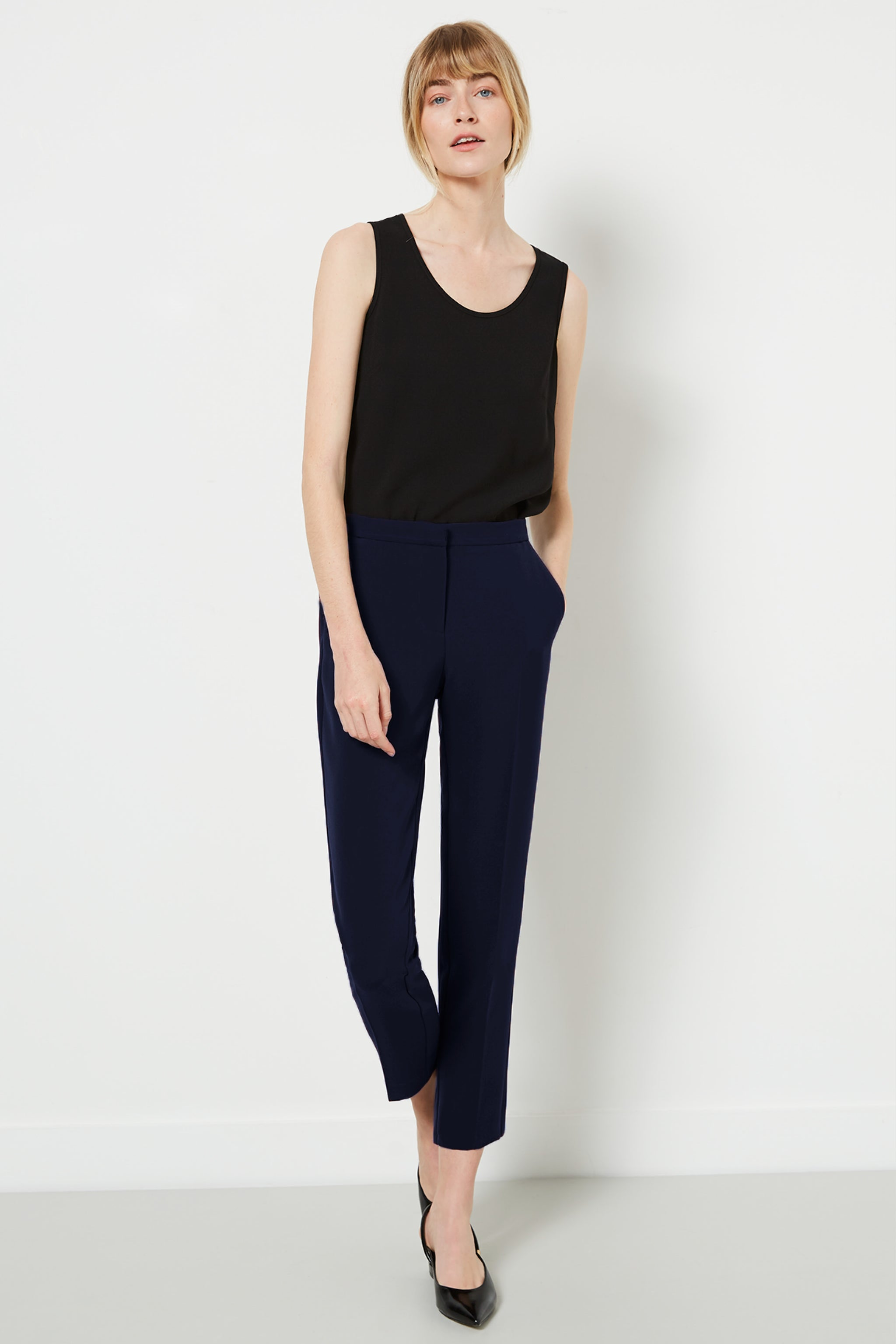 Clarence Navy Trousers