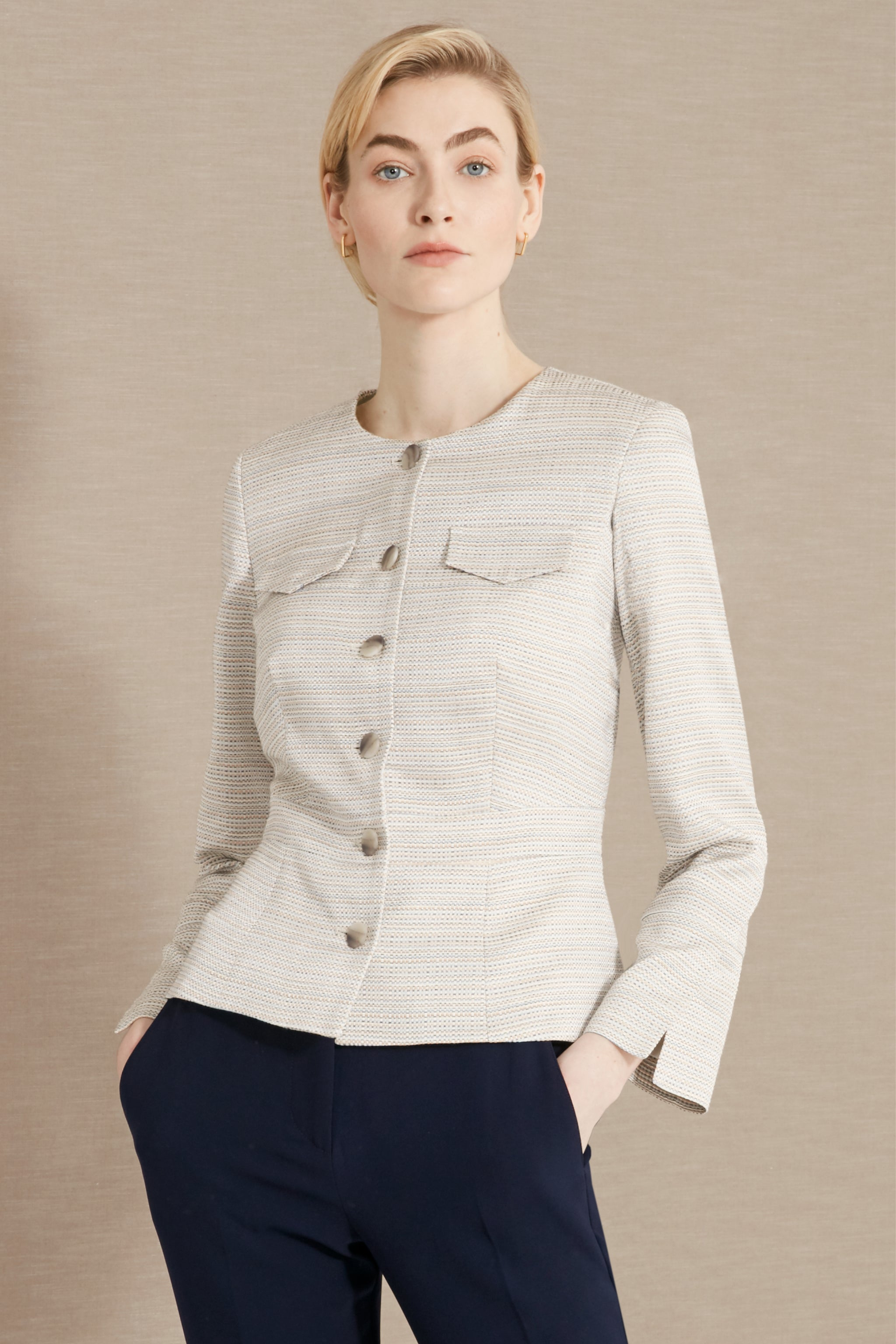Connaught Summer Jacquard Jacket