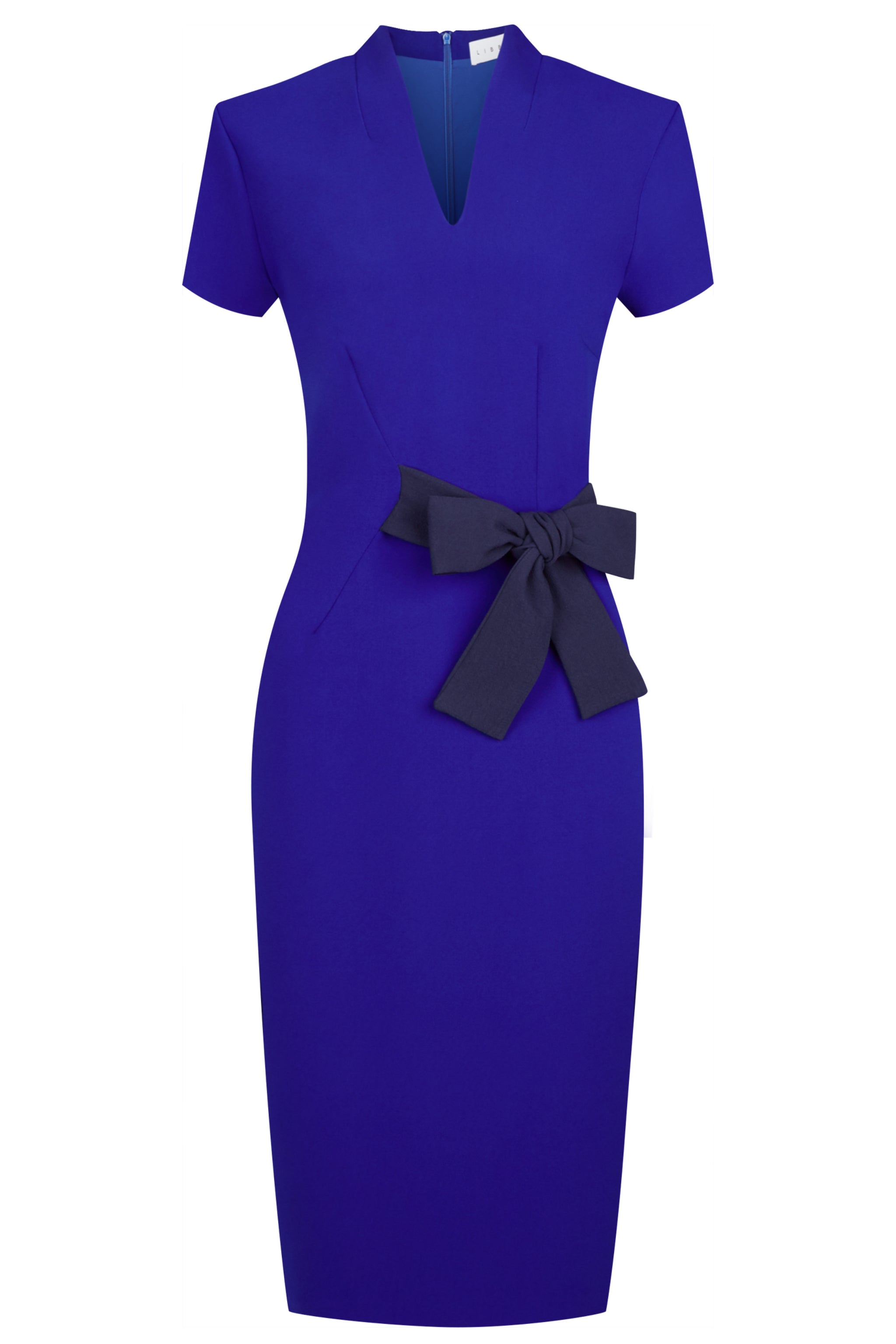Dartmouth Cobalt & Navy Dress