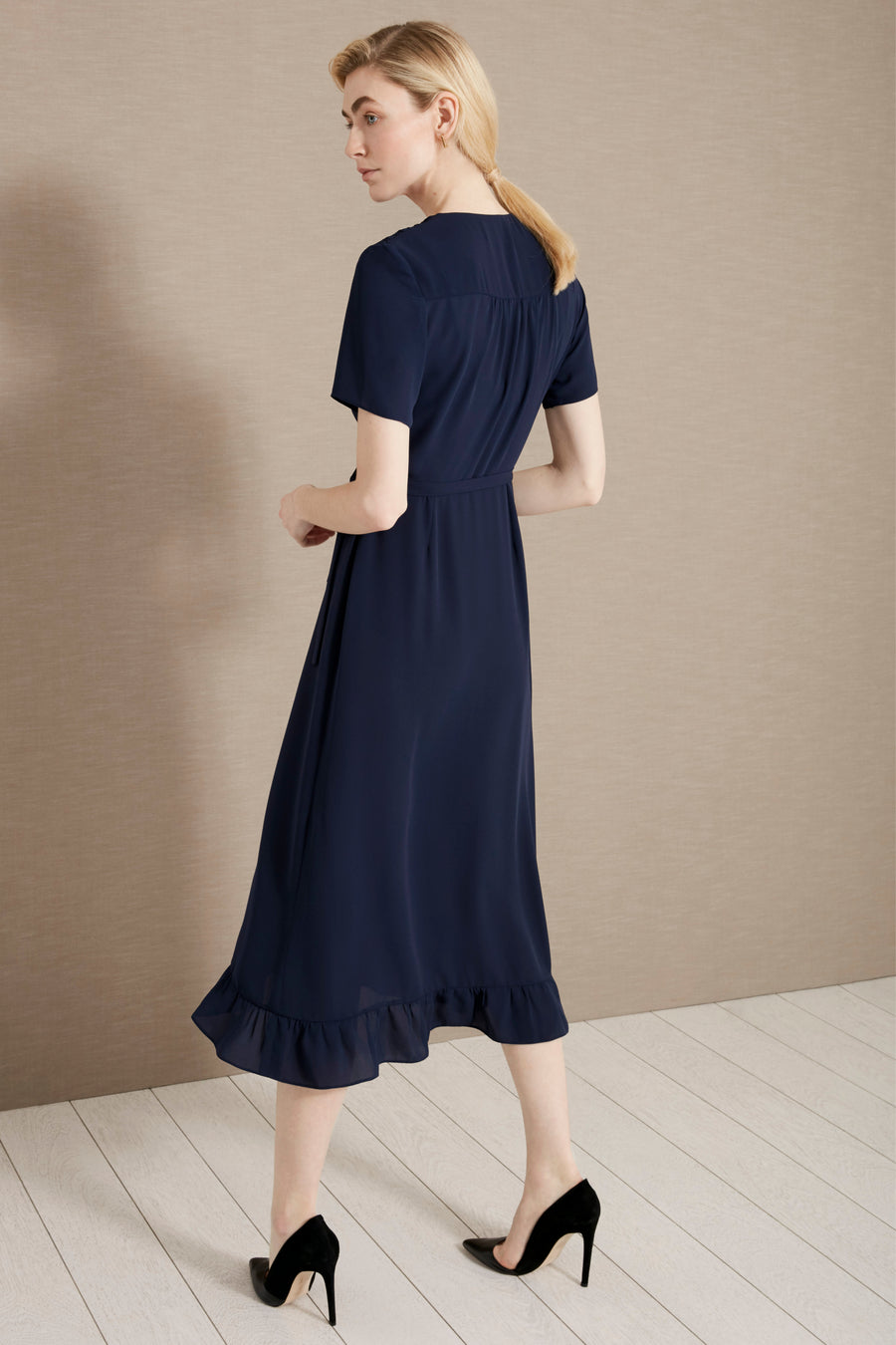 Devon Navy Dress