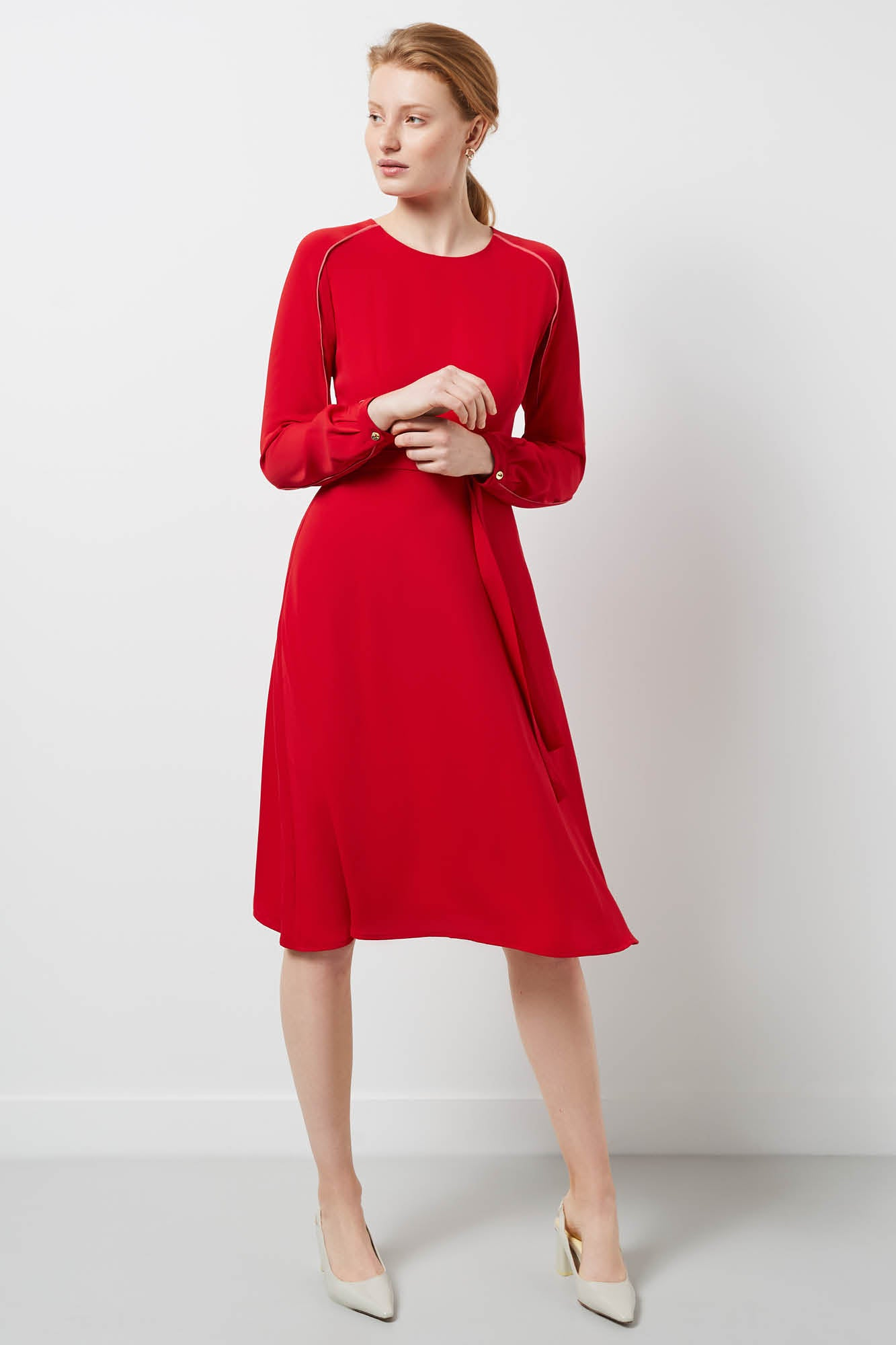 Eccleston Red Dress