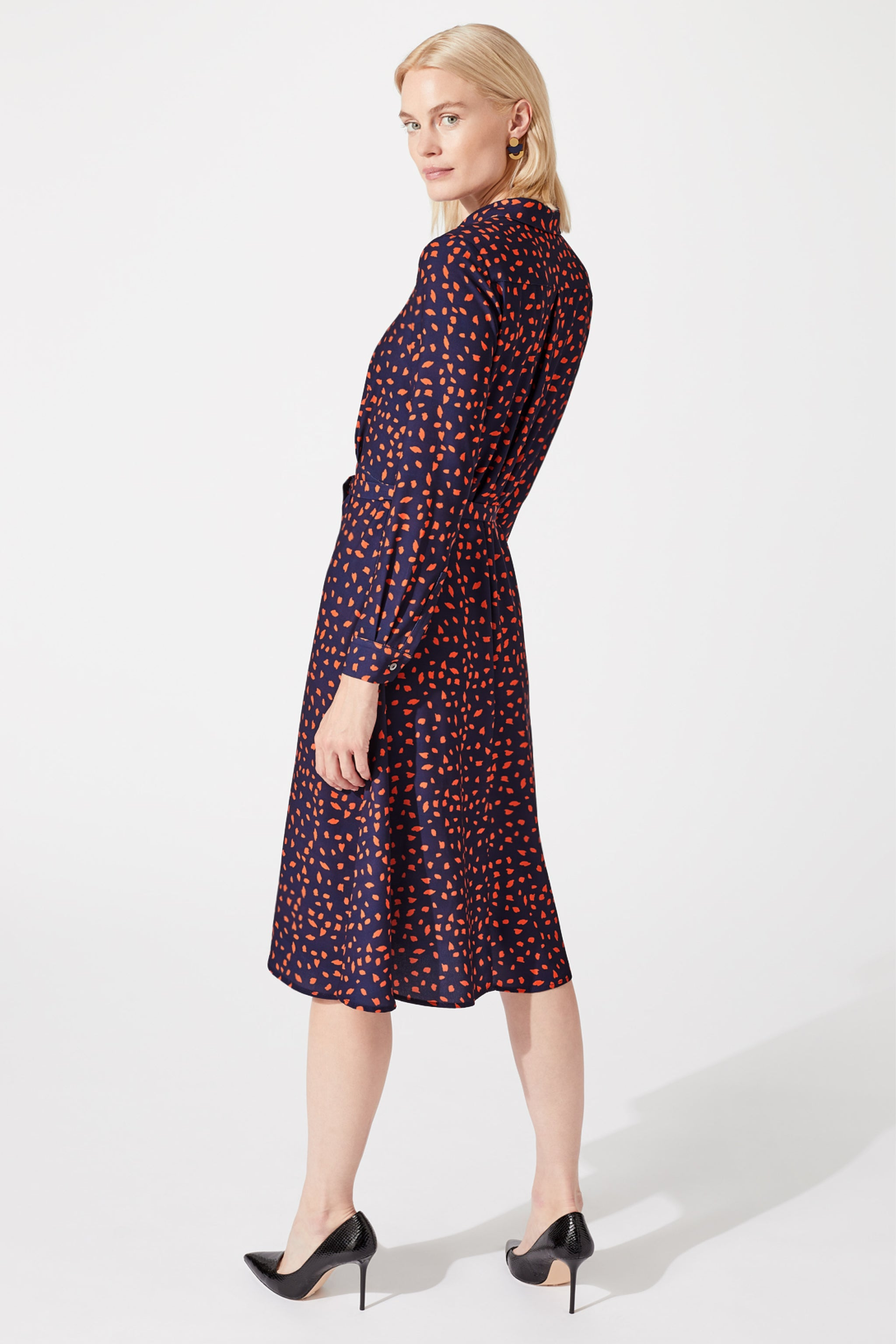 Exeter Dapple Print Shirt Dress