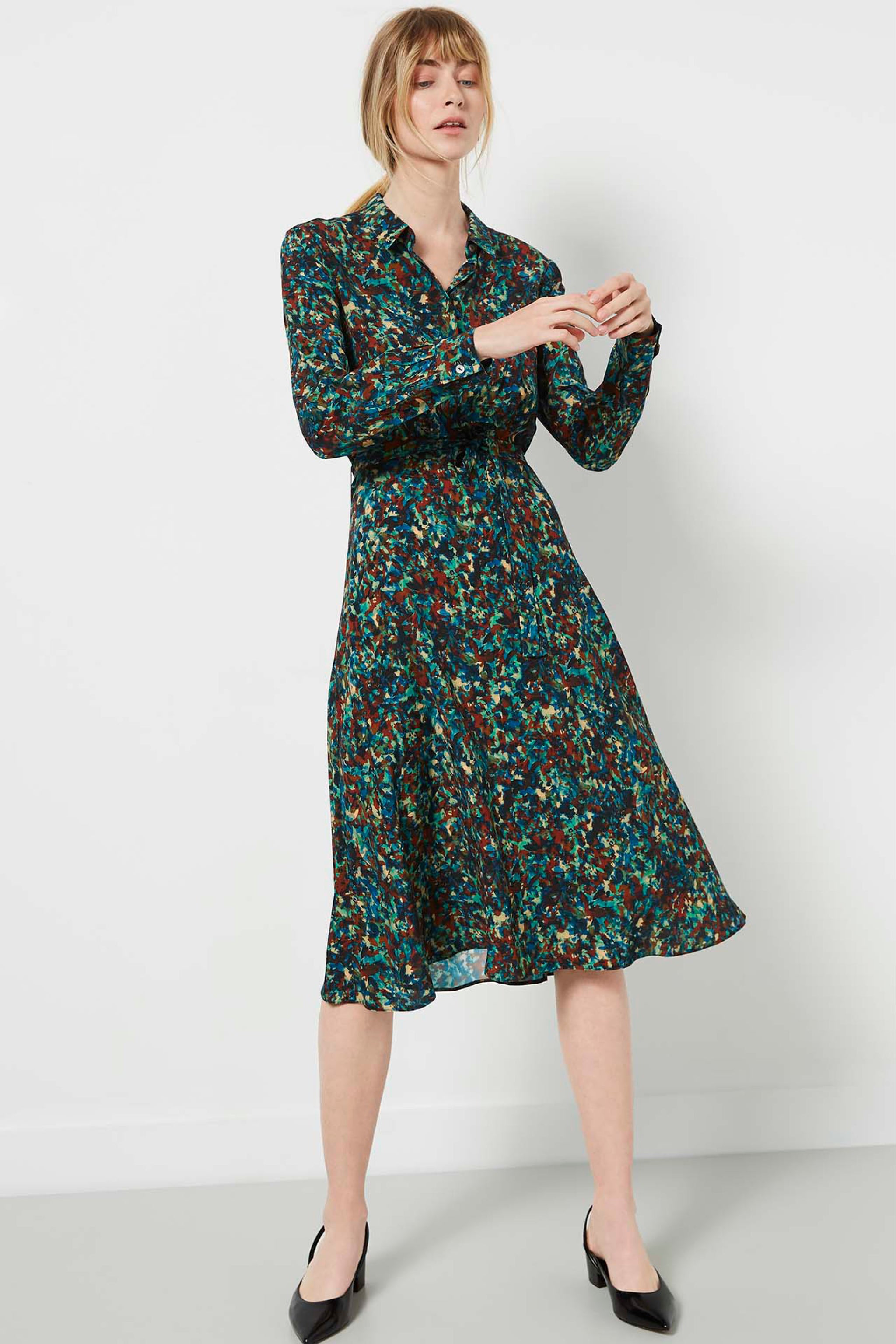 Exeter Monet Print Shirt Dress