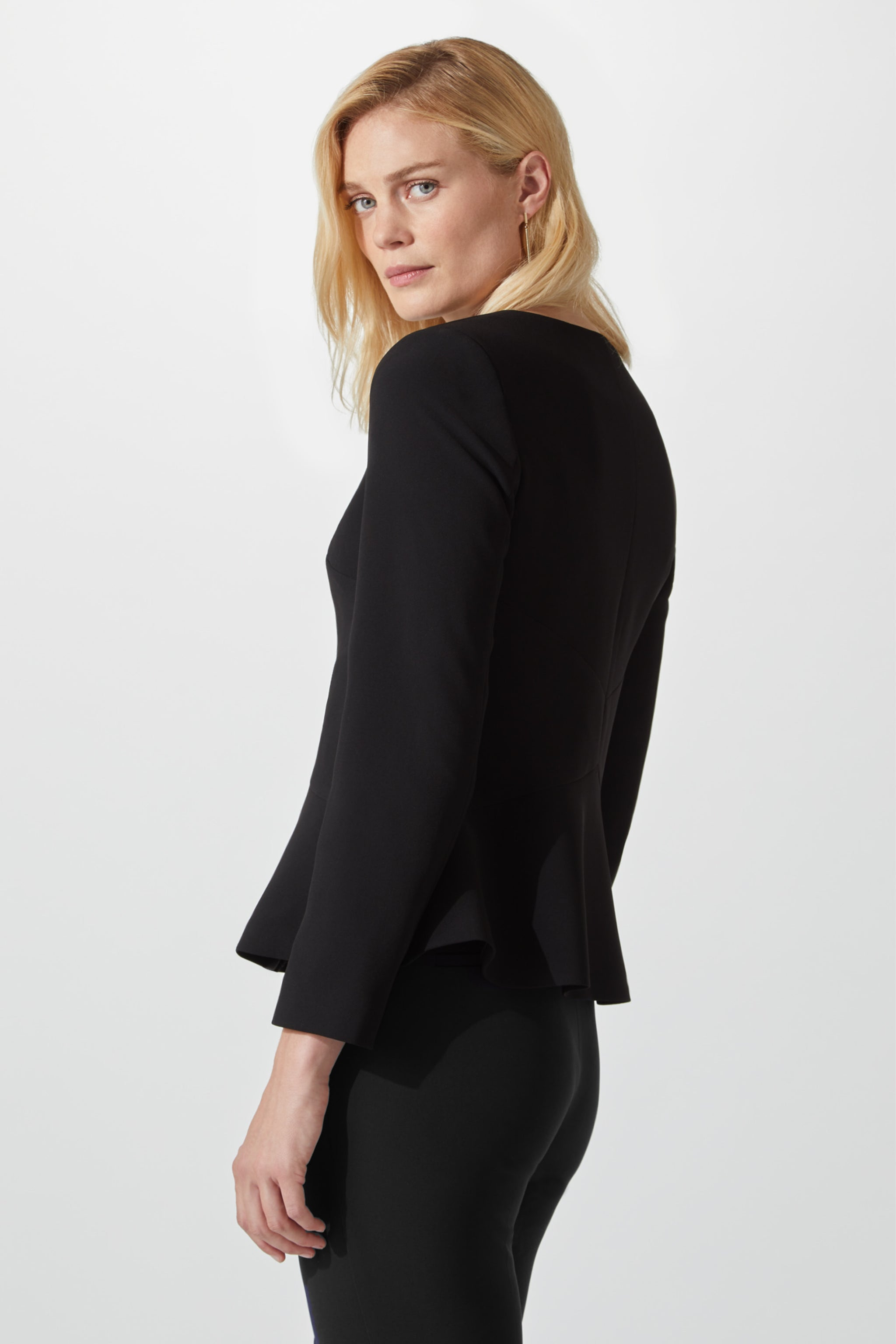 Finsbury Black Suiting Jacket
