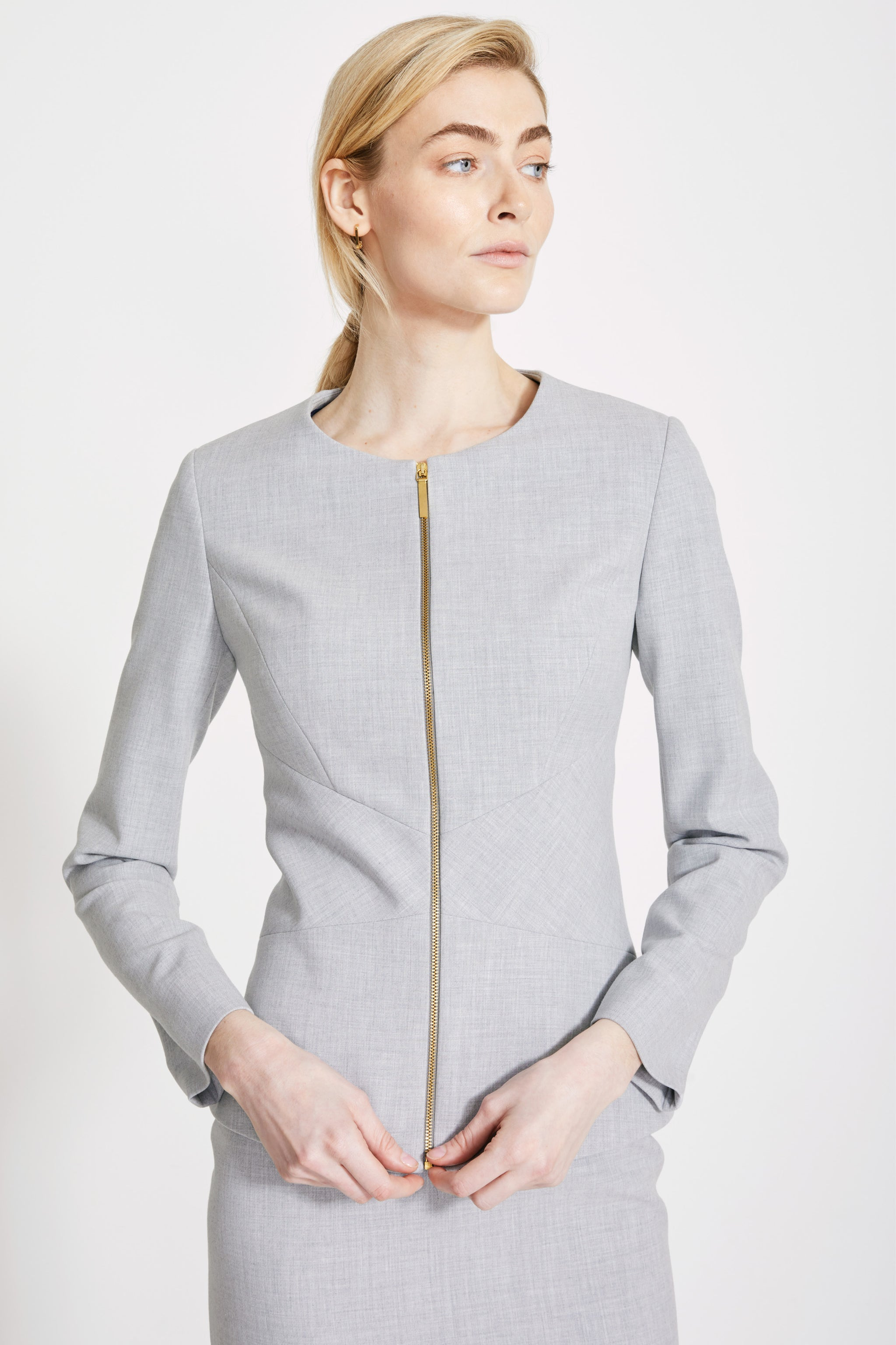 Finsbury Pale Grey Jacket